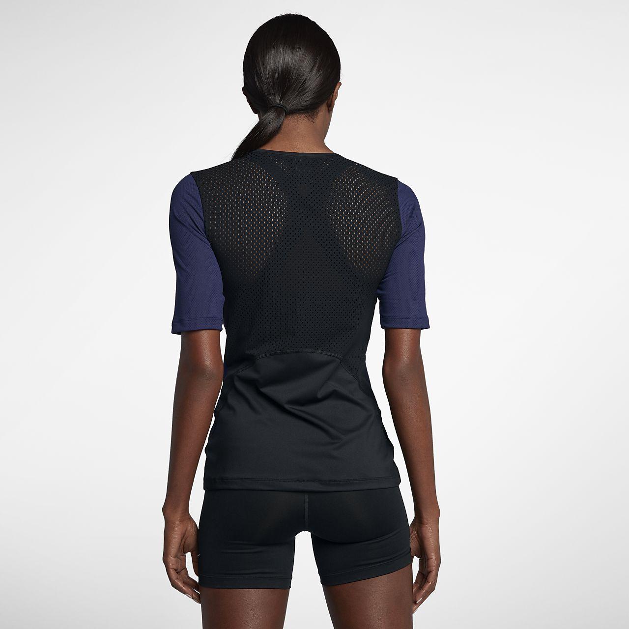 ... Nike Pro HyperCool Women's Short Sleeve Training Top