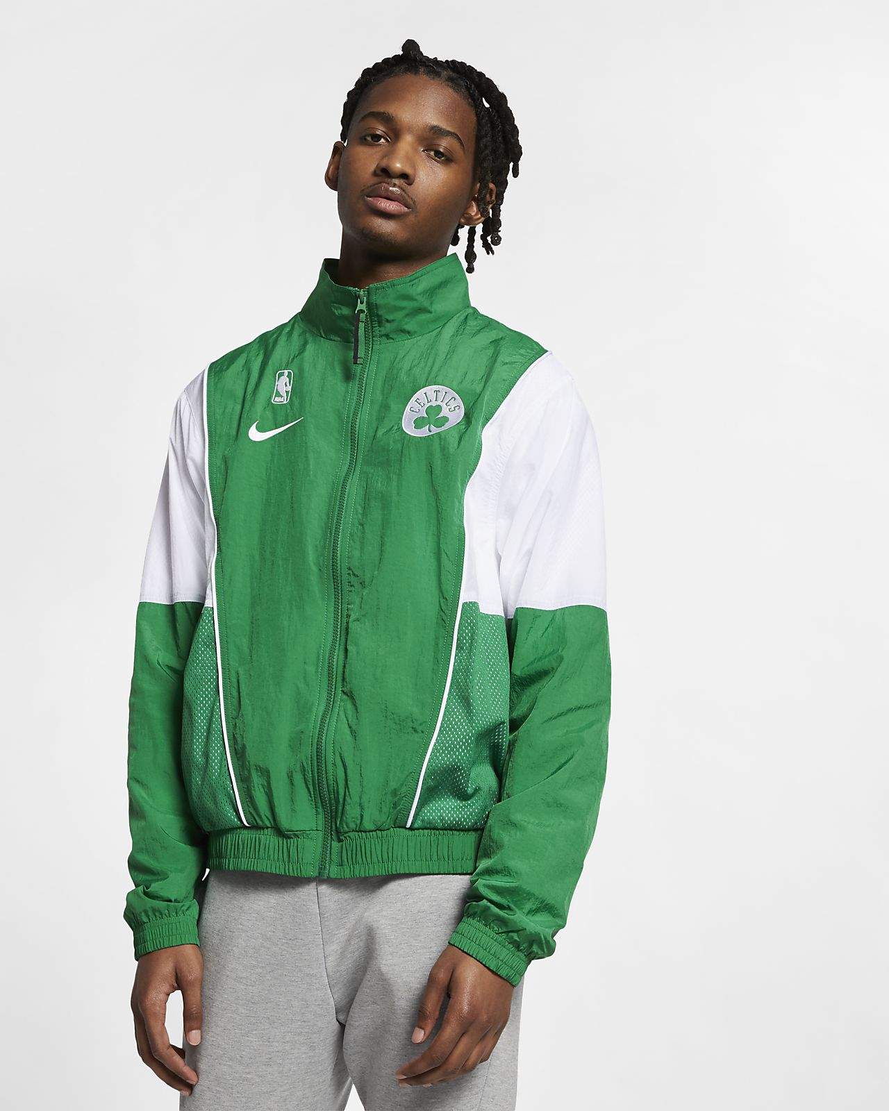 Boston Celtics Nike Courtside Men's NBA Tracksuit Jacket