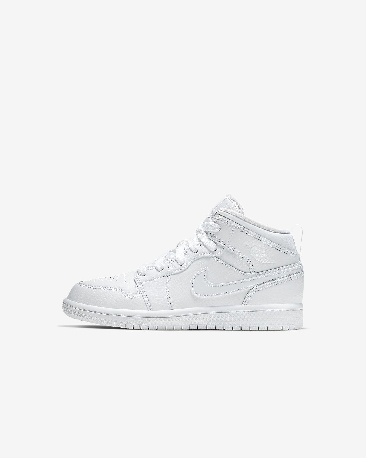 Air Jordan 1 Mid sko for små barn