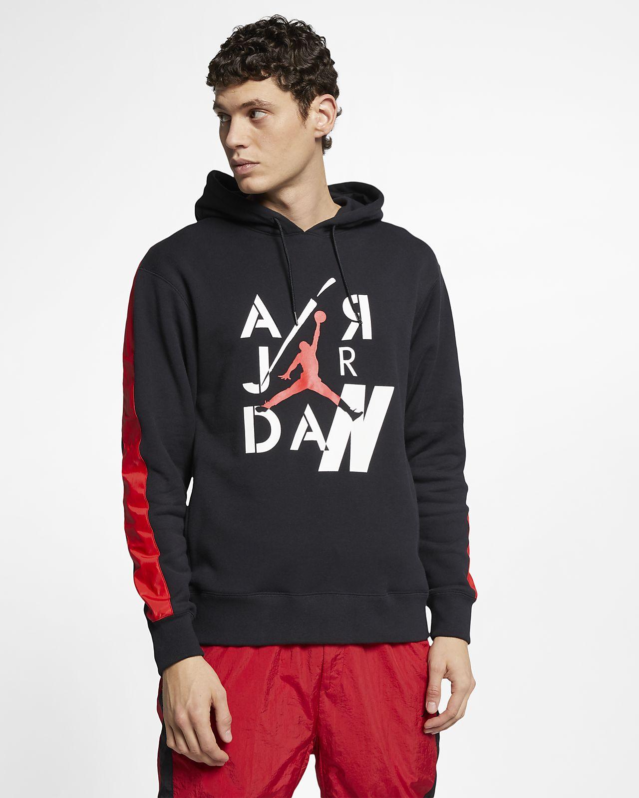 Jordan Legacy AJ4 男款 Fleece 套頭連帽上衣