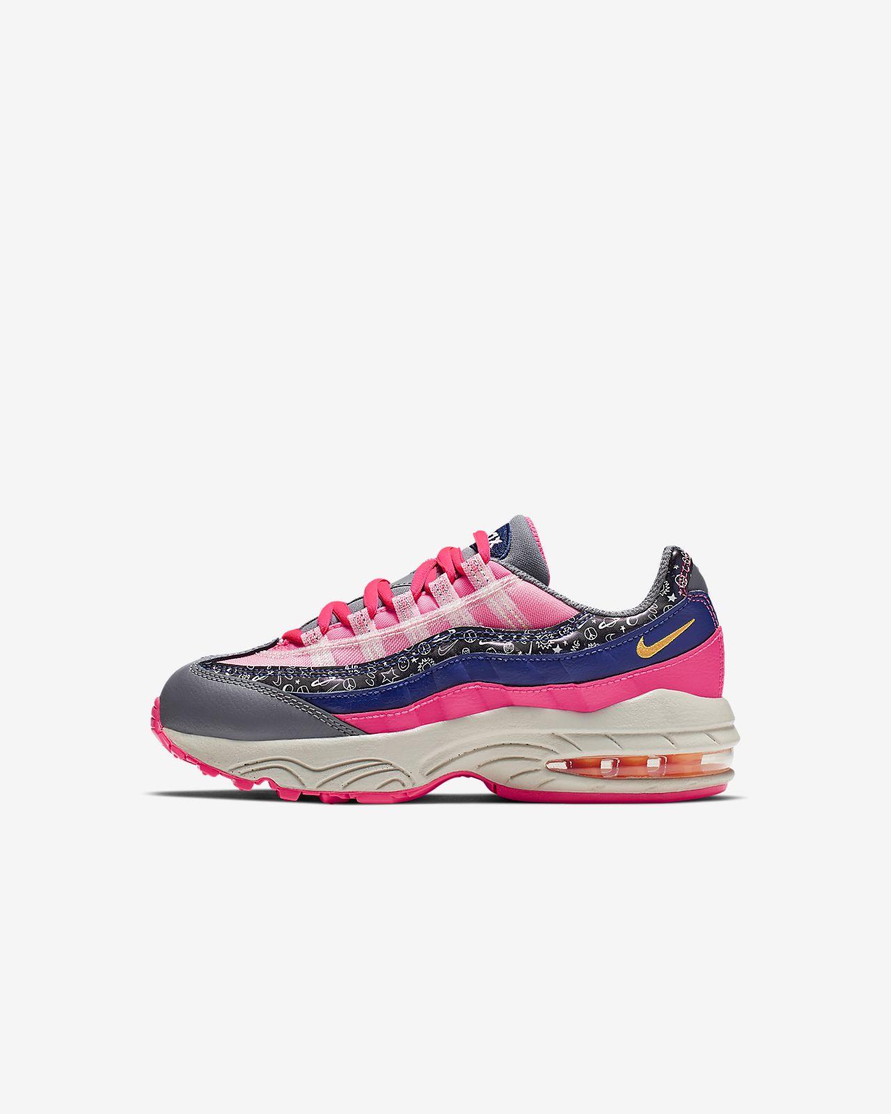 best cheap 92648 59d0f ... Nike Air Max 95 Little Kids  Shoe