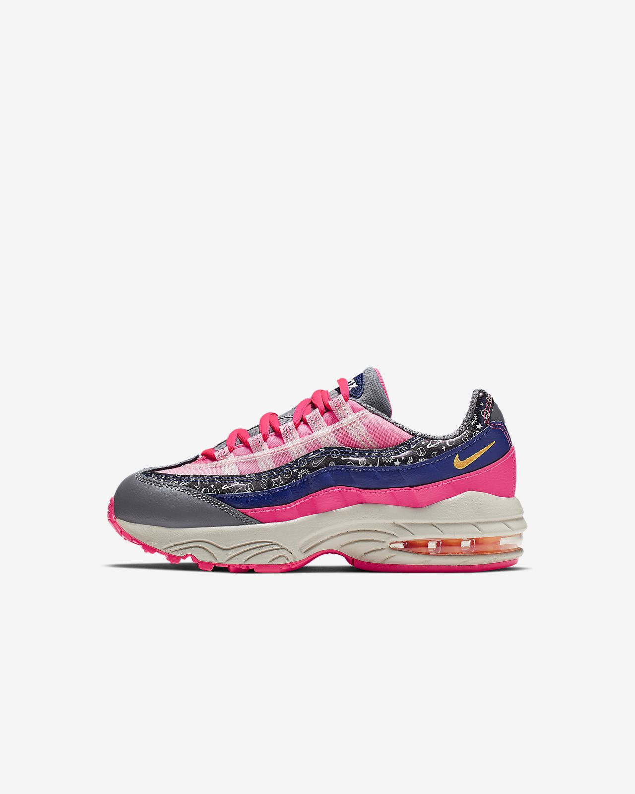 half off bdd9d 177c2 Nike Air Max 95 Little Kids  Shoe. Nike.com