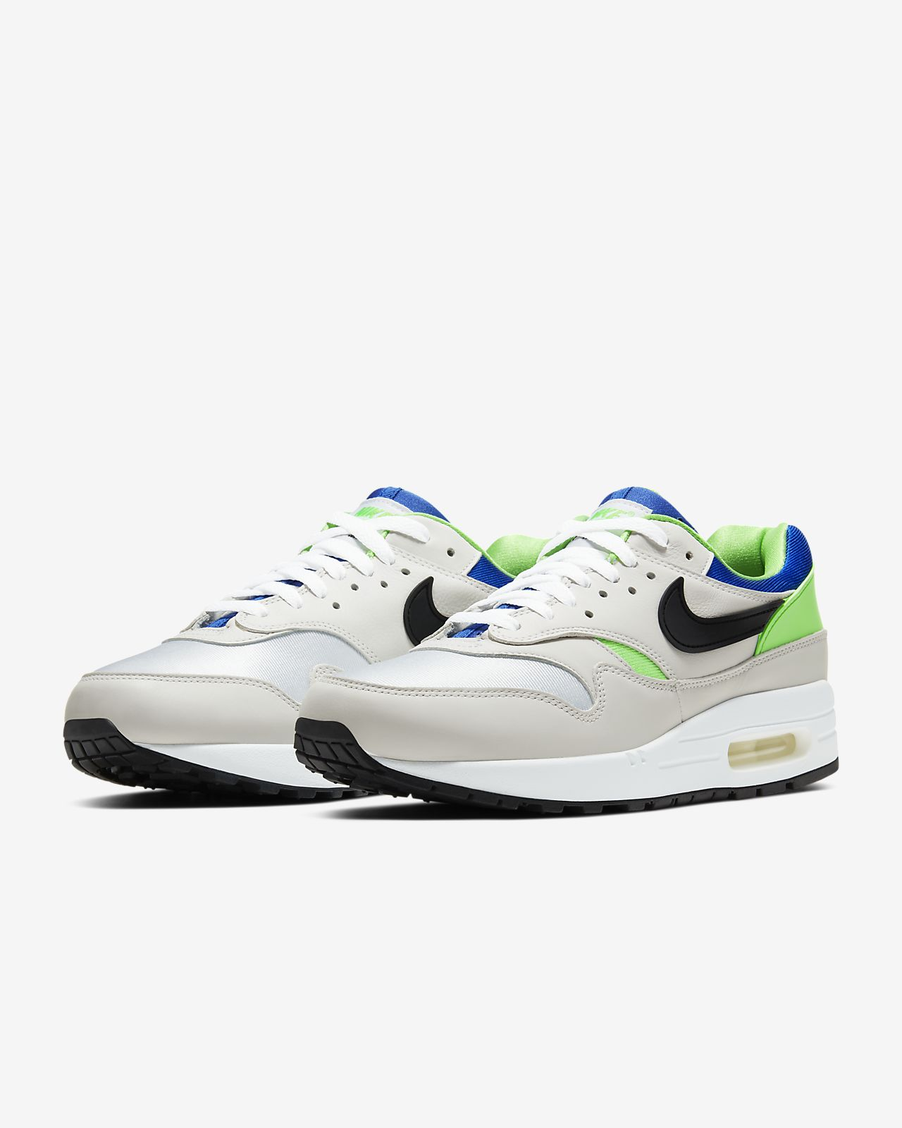 Mens Shoes Nike Air Max 1 White AH8145 109 | Pro