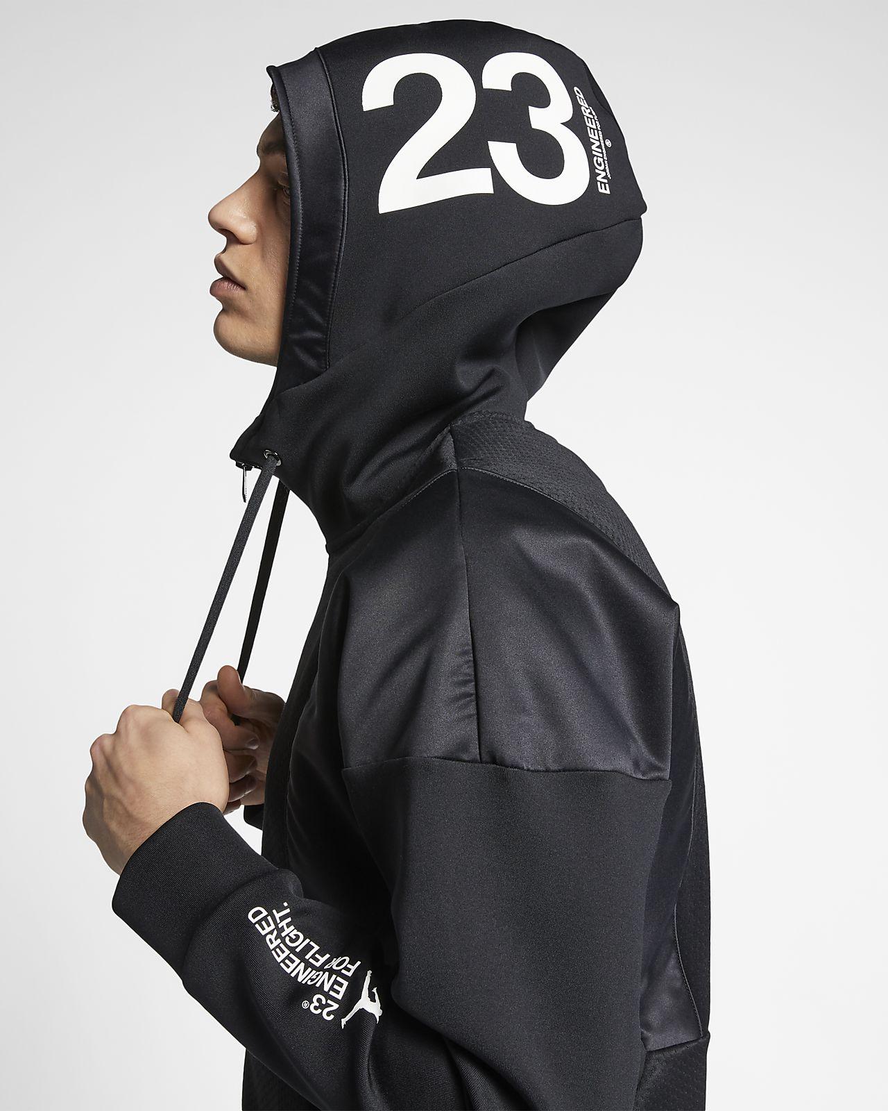 ef300af079aa Jordan 23E Flight Tech Lite Men s Full-Zip Hoodie. Nike.com