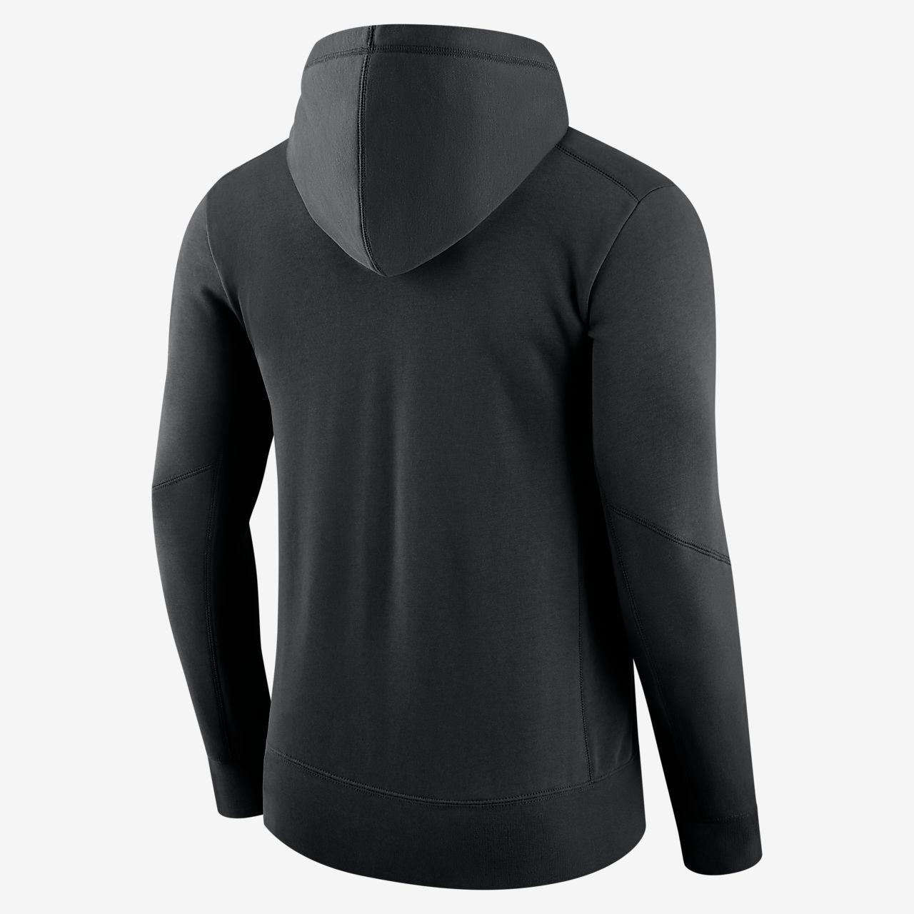 Felpa con cappuccio pullover Nike Fly Fleece (NFL Panthers) Uomo