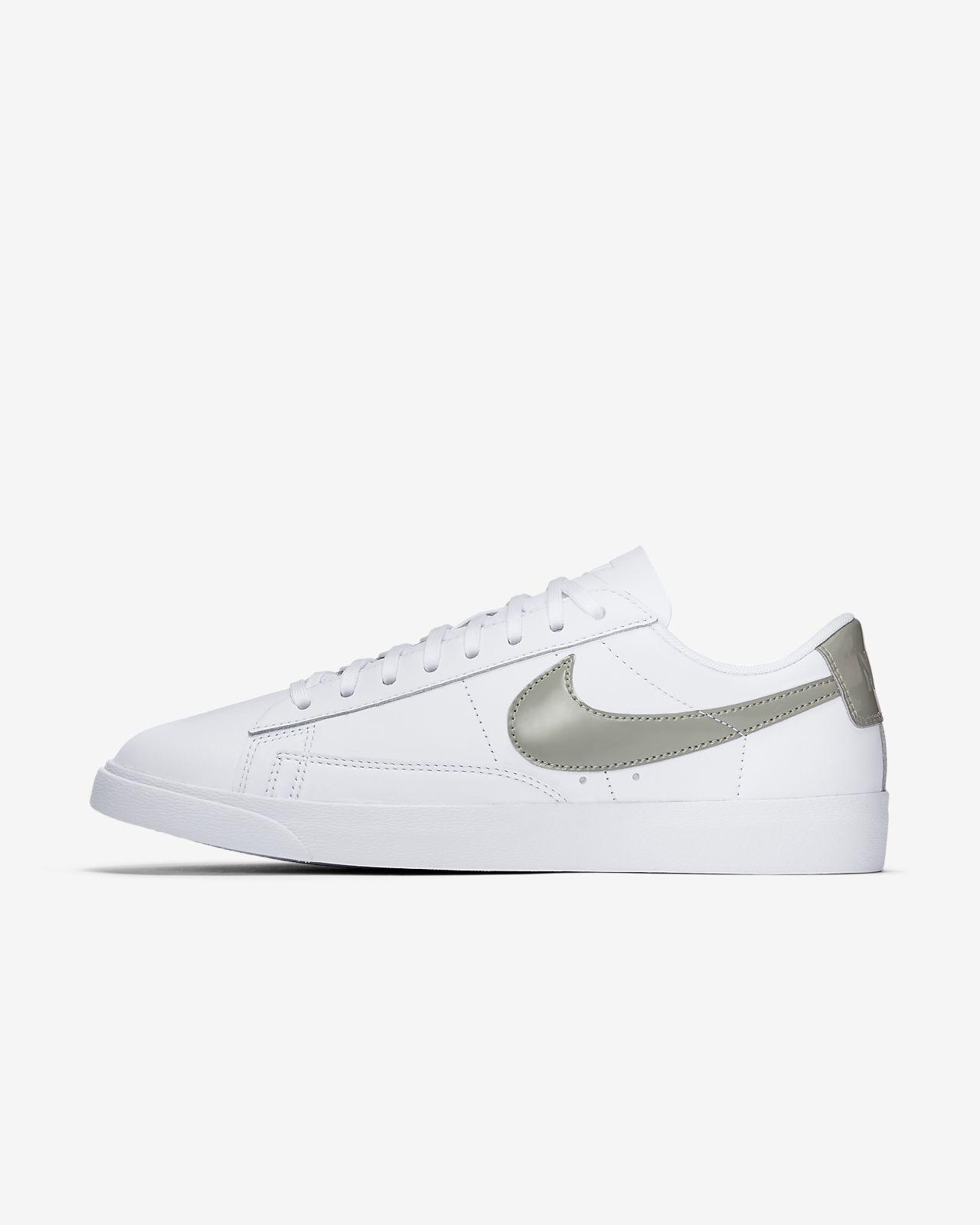 Nike Sportswear BLAZER - Trainers - white/dark stucco 9GcFJzeF