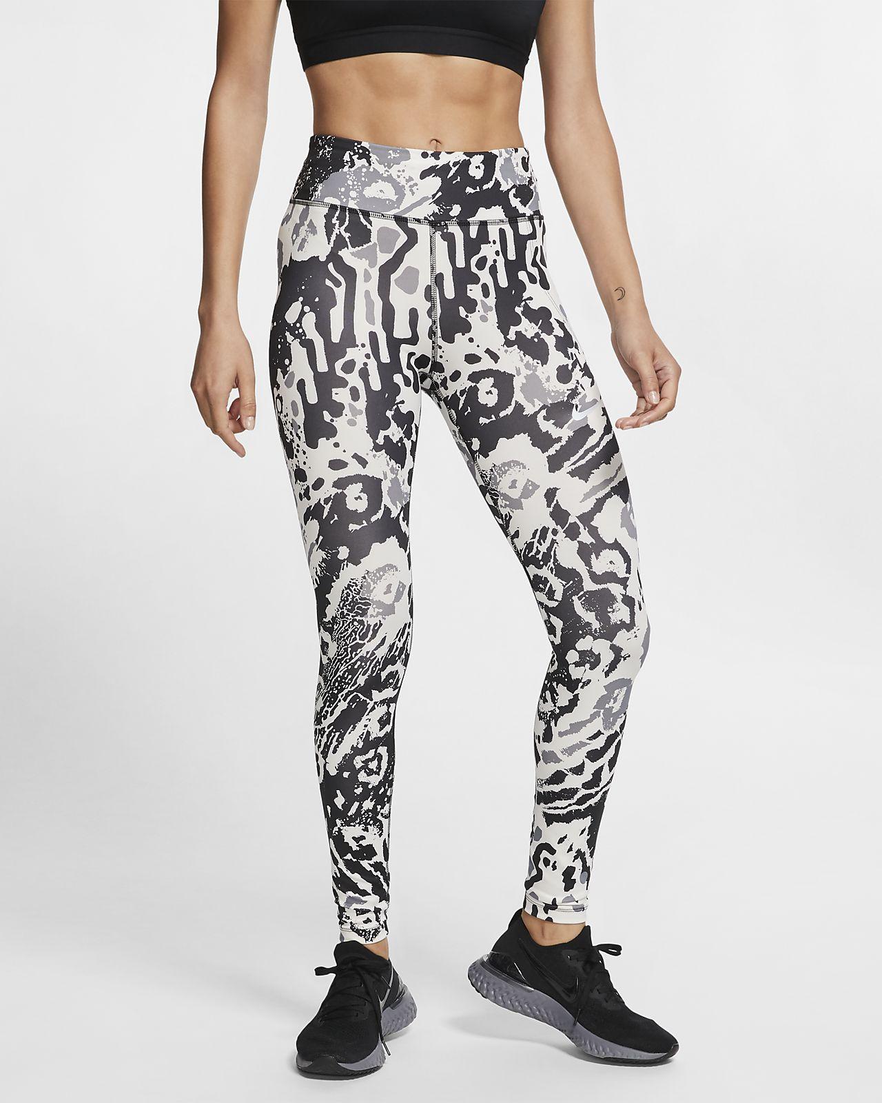 Nike Fast Women's 7/8 Printed Running Leggings