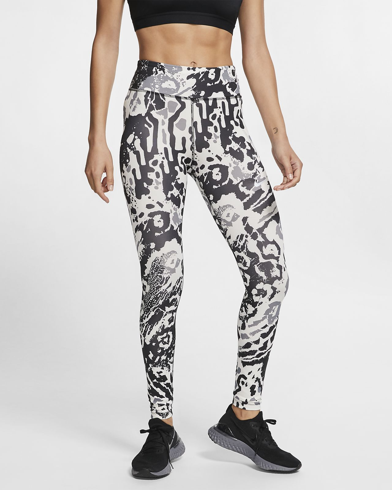 Nike Fast Women's 7/8 Printed Running Tights