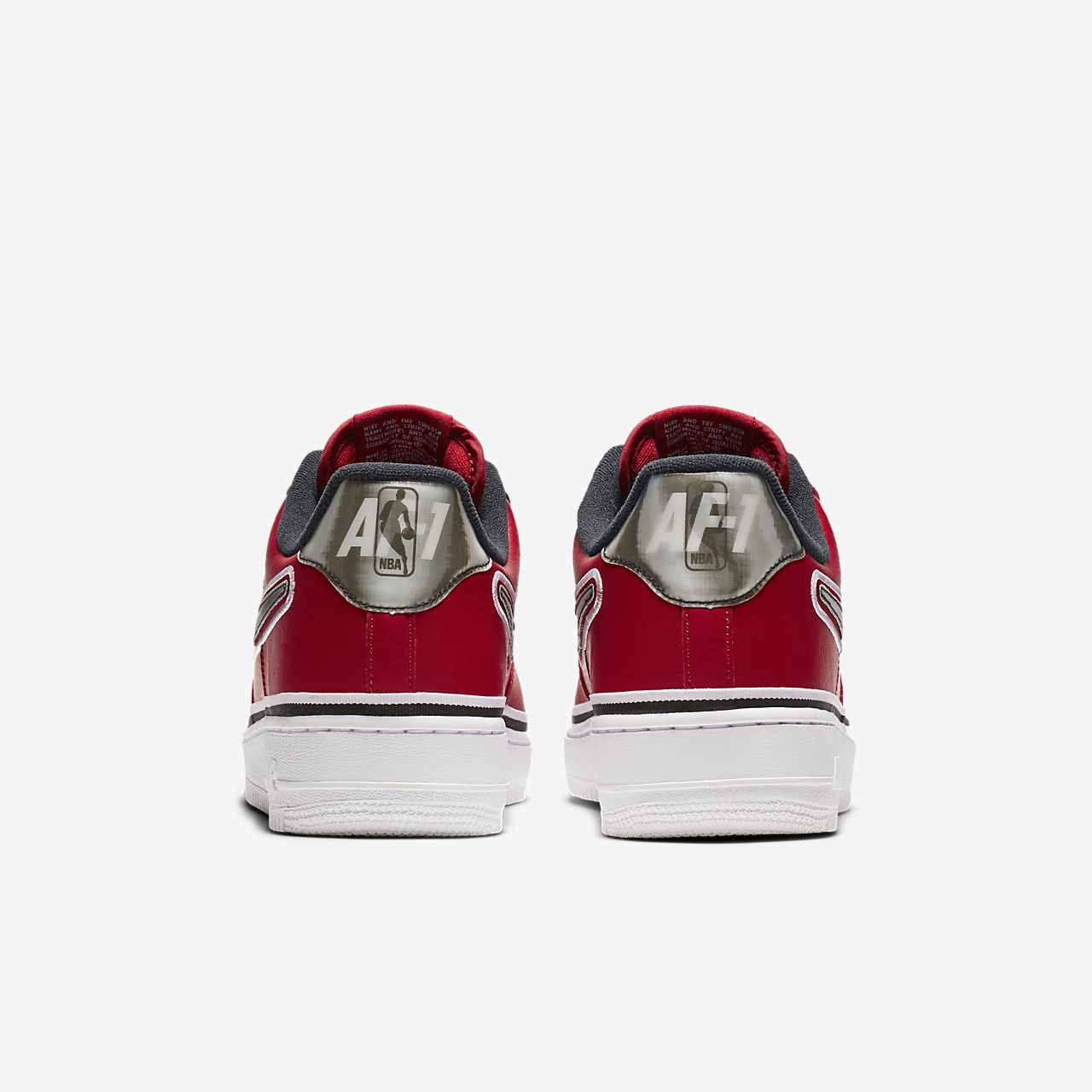 new arrival ed710 766f8 ... Nike Air Force 1 NBA Low (Chicago Bulls) Men s Shoe