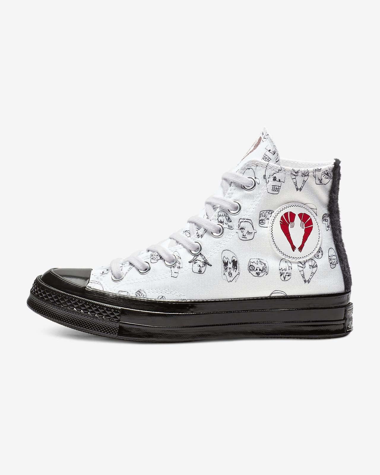 Chuck Top Shoe Shrimps Women's Converse High 70 X wAq7a