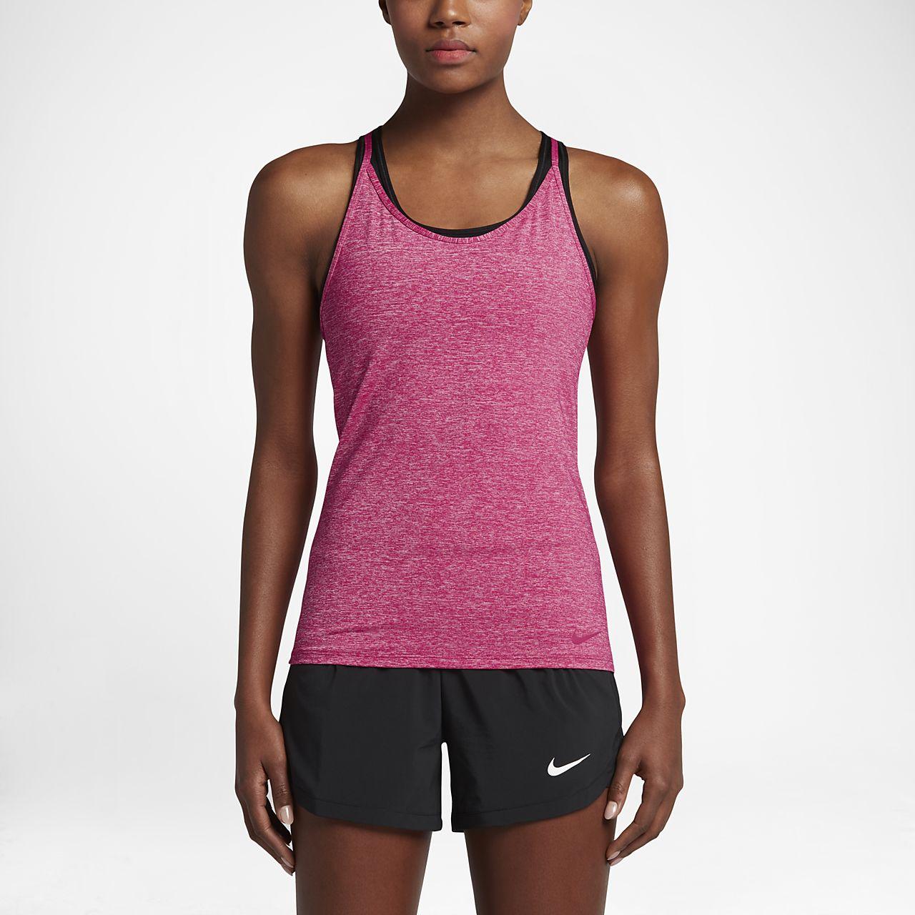 Nike Women's Training Tank Tops Sport Fuchsia