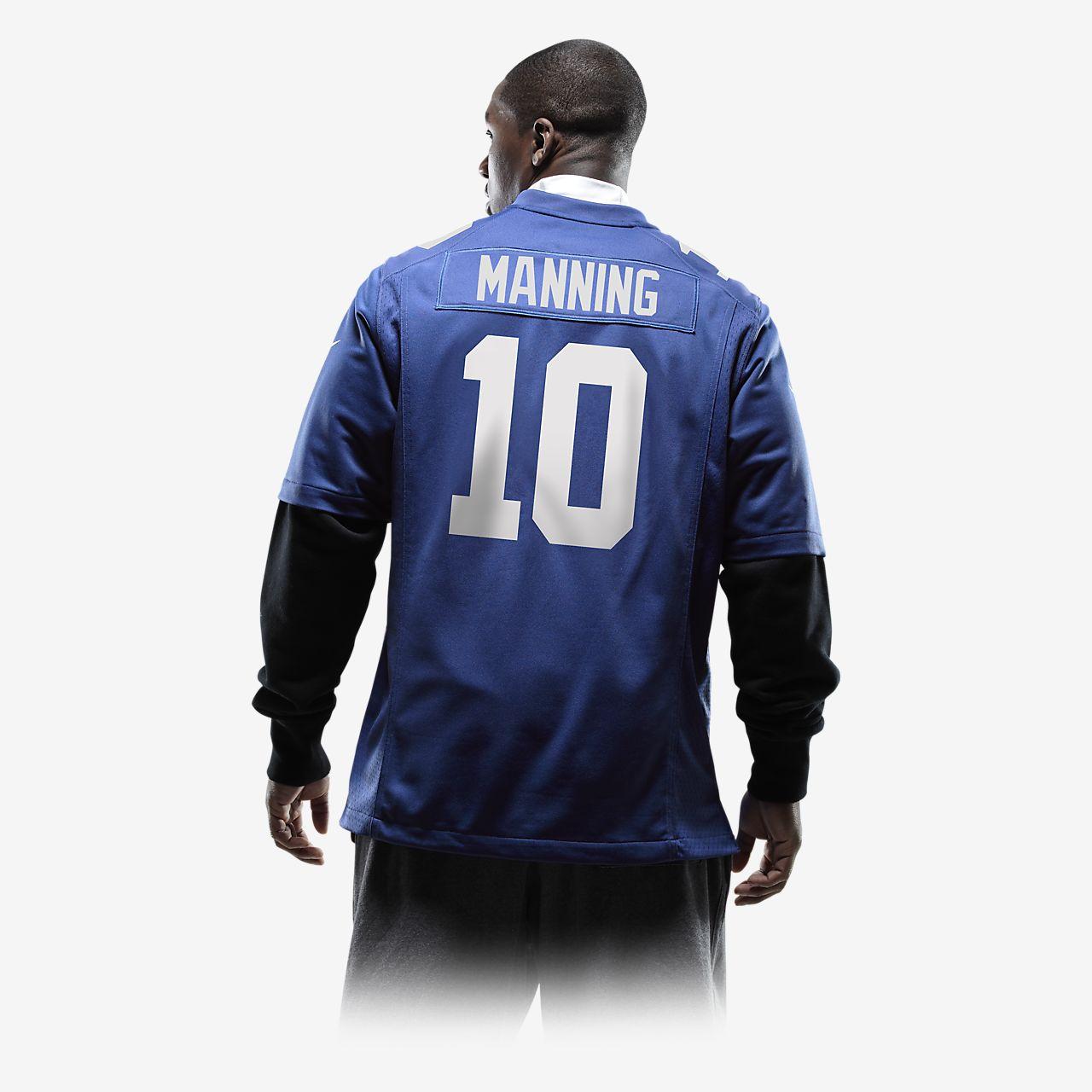 ... NFL New York Giants (Eli Manning) Camiseta de fútbol americano de la 1ª  equipación d3f76628139