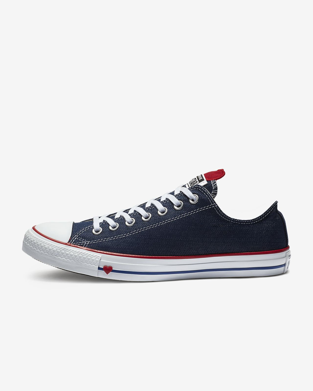 Chuck Taylor All Star Denim Love Low Top Unisex Shoe