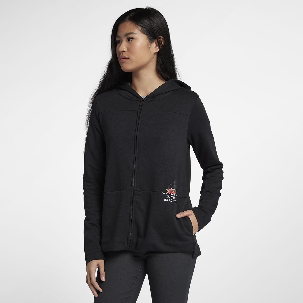 Hurley Split Zip Fleece Women's Hoodie