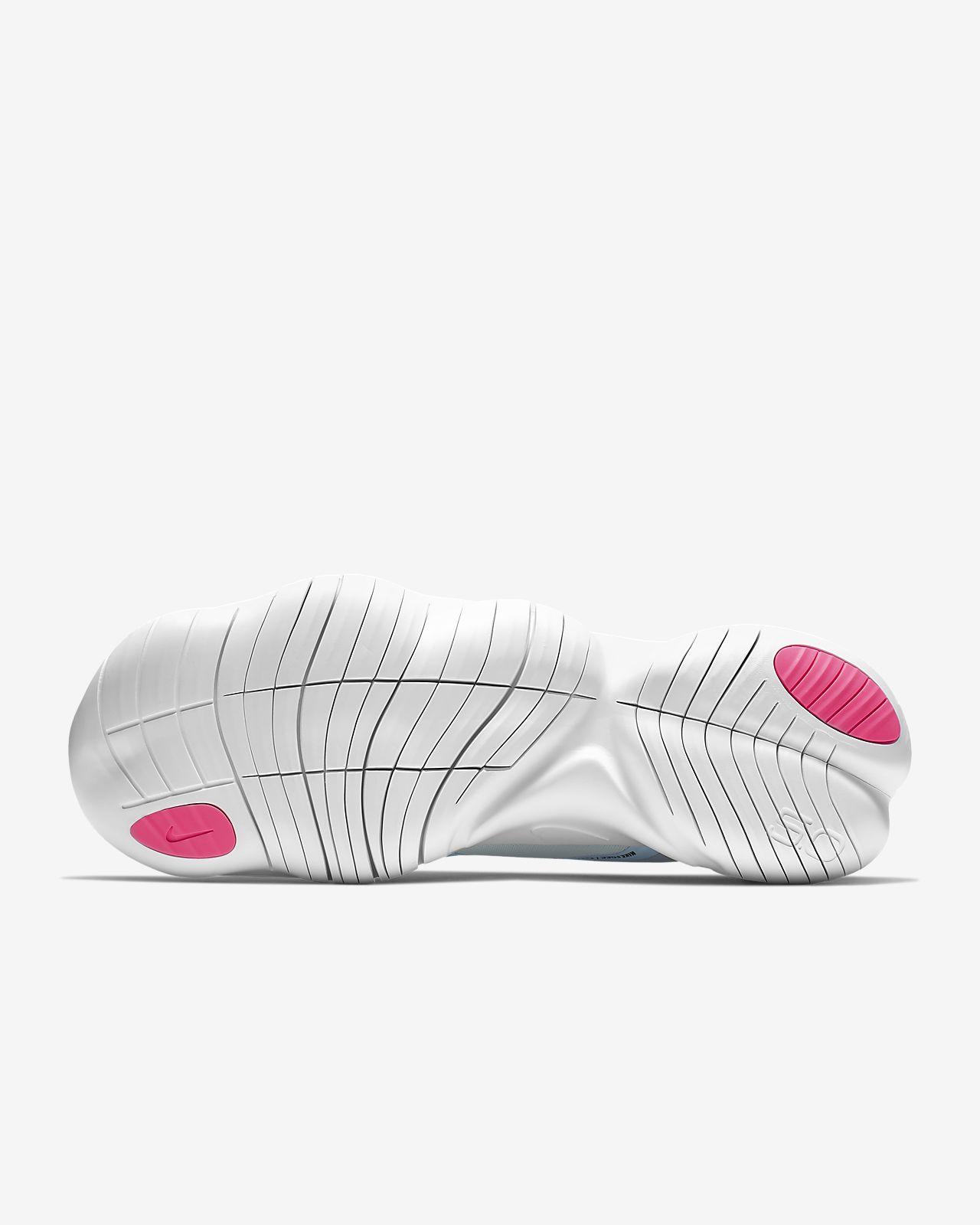 Nike Free 5.0 Grey, Pink, Teal Running Shoes 9