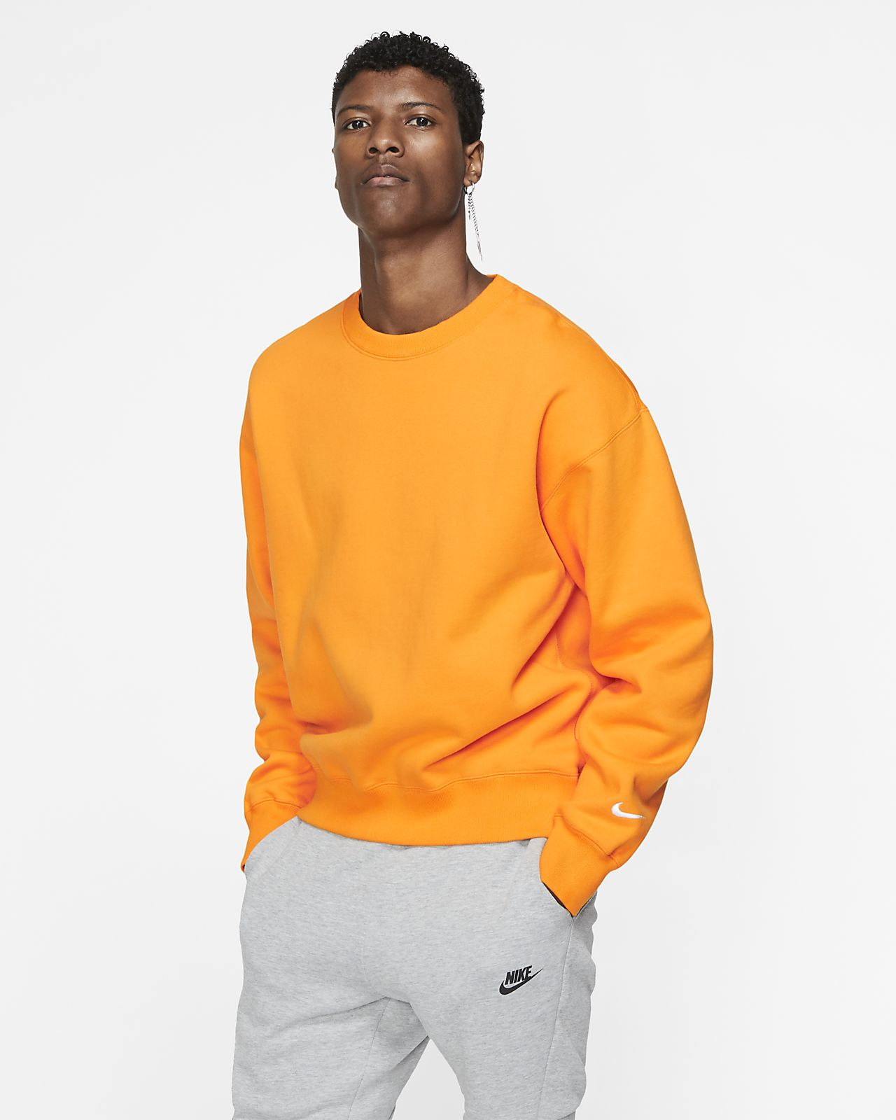 NikeLab Collection rundhalset genser til herre