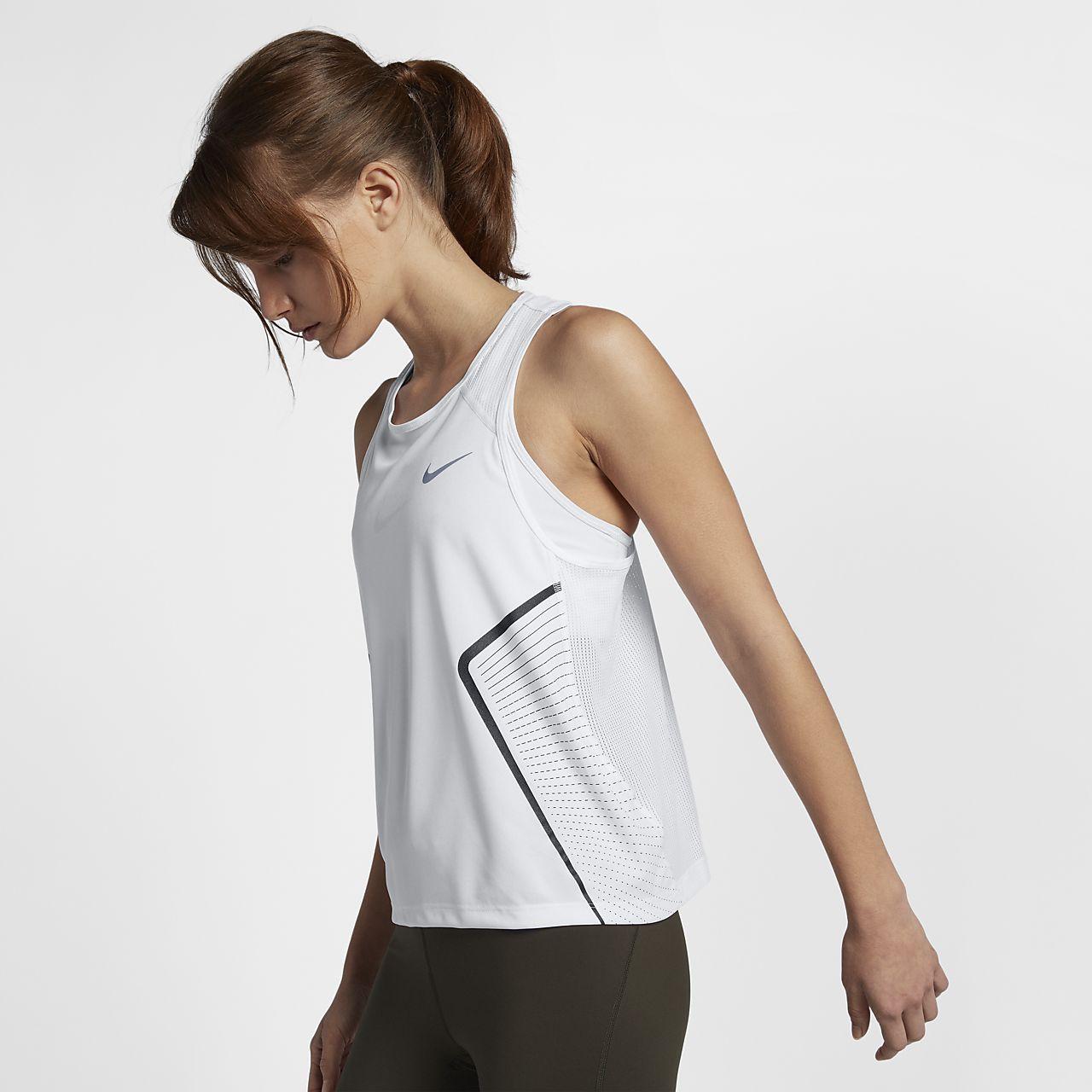 เสื้อกล้ามวิ่งผู้หญิง Nike Dri-FIT Miler