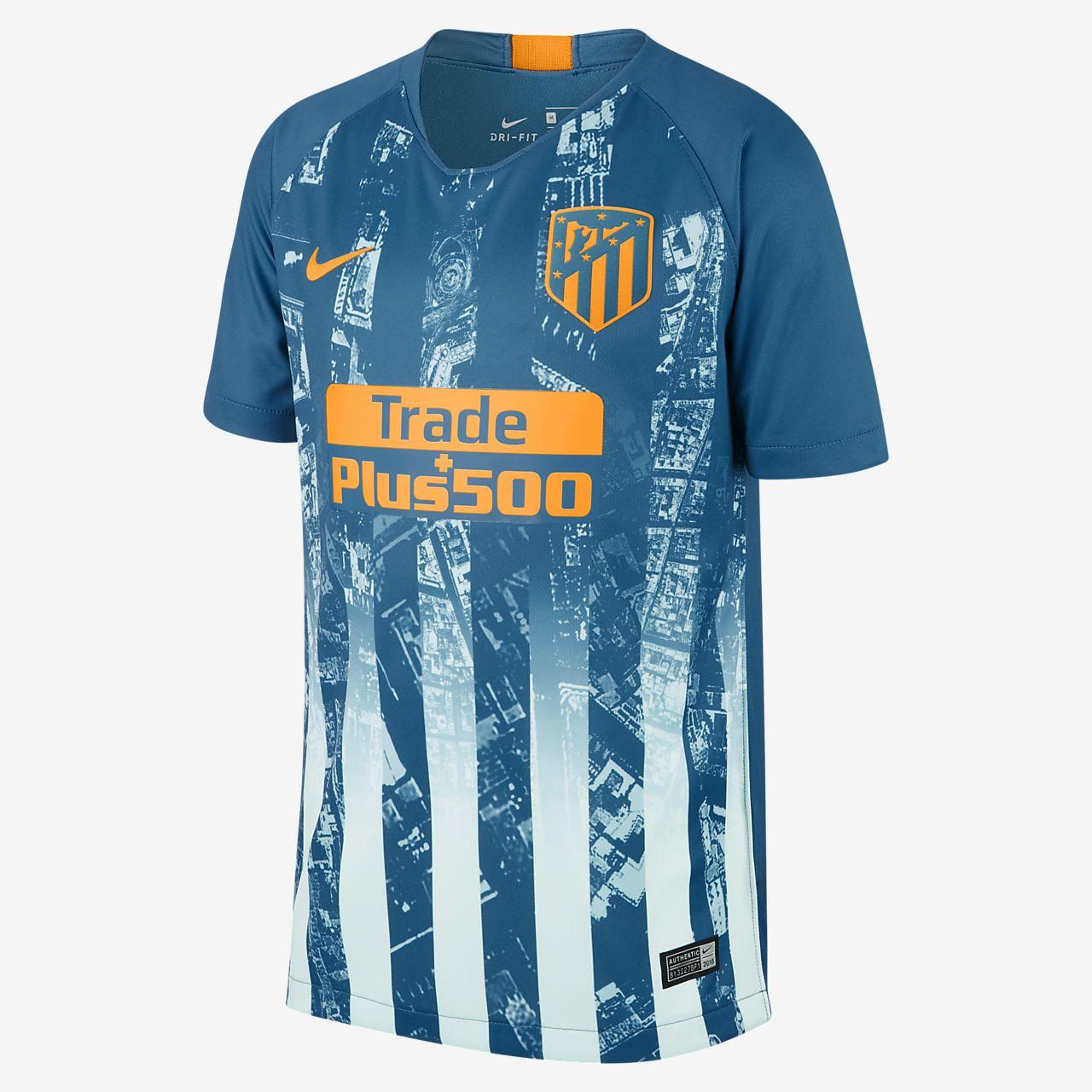 Camiseta de fútbol para niños talla grande alternativa Stadium del Atlético  de Madrid 2018 19 8ca8d2b0fbe