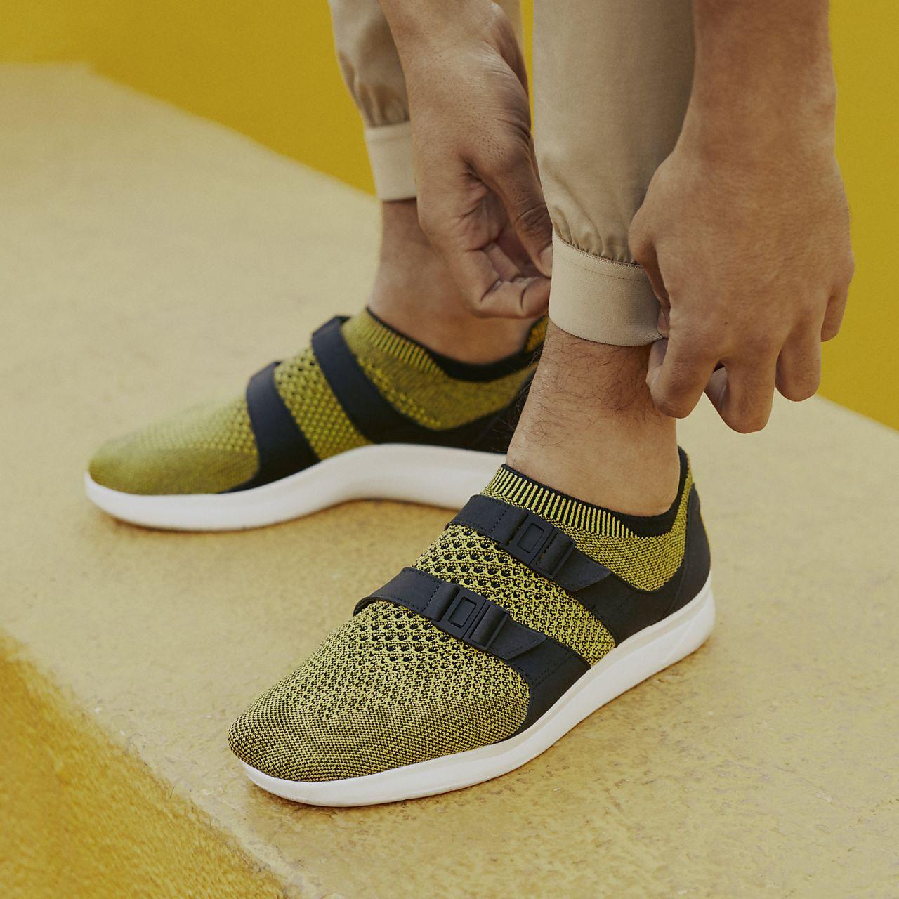 best loved 01dc7 c1702 ... 898022-700,Yellow StrikeBlack ... Nike Air Sock Racer Ultra Flyknit Mens  Shoe .