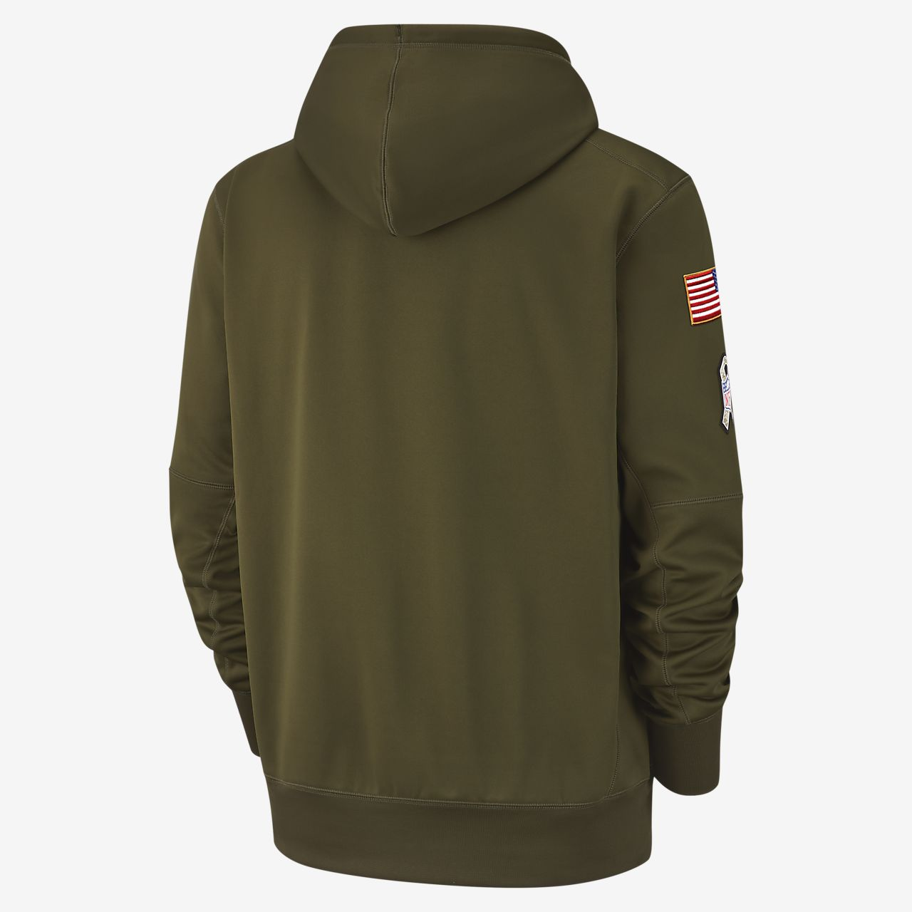 info for d9e63 84991 Nike Therma Salute to Service (NFL Ravens) Big Kids' Hoodie