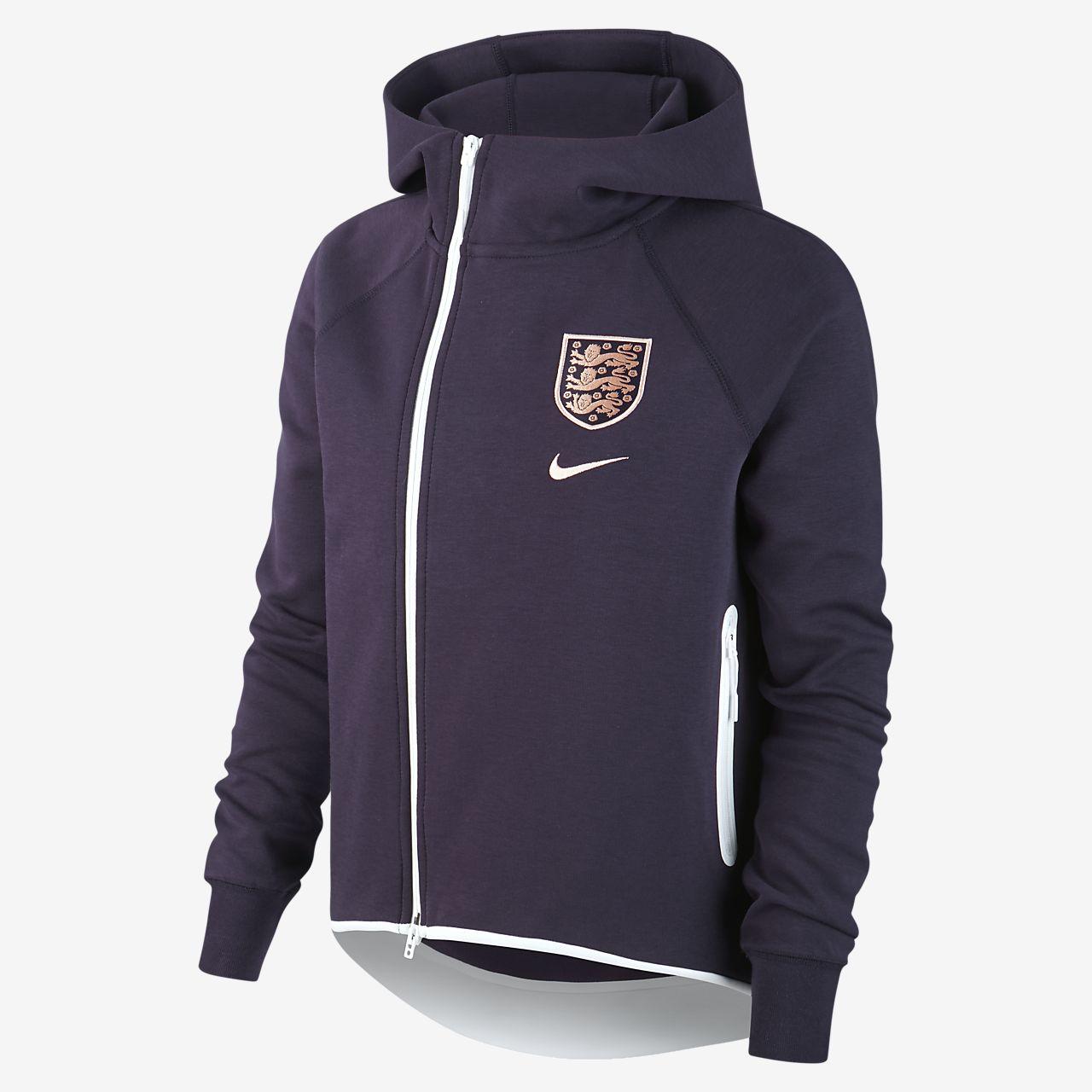 Veste style cape de football England Tech Fleece pour Femme
