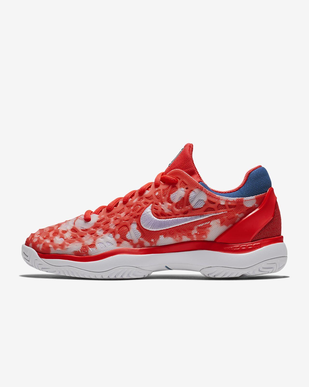 76596952cd0 Calzado de tenis para mujer NikeCourt Air Zoom Cage 3 Premium. Nike ...