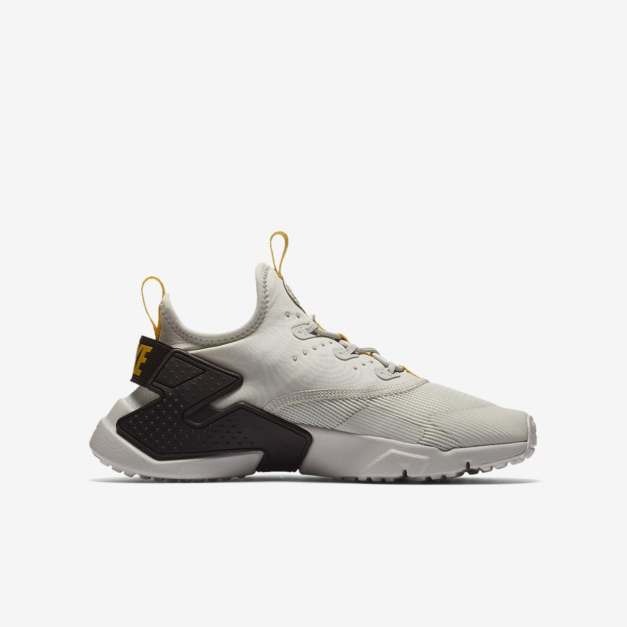 ... Nike Huarache Run Drift Big Kids' Shoe