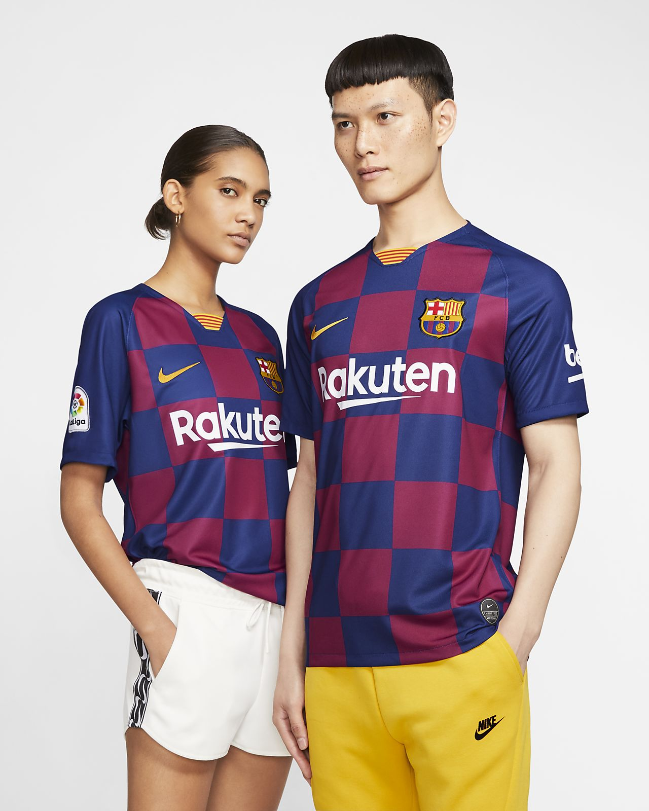 reputable site 92925 93f54 FC Barcelona 2019/20 Stadium Home Soccer Jersey