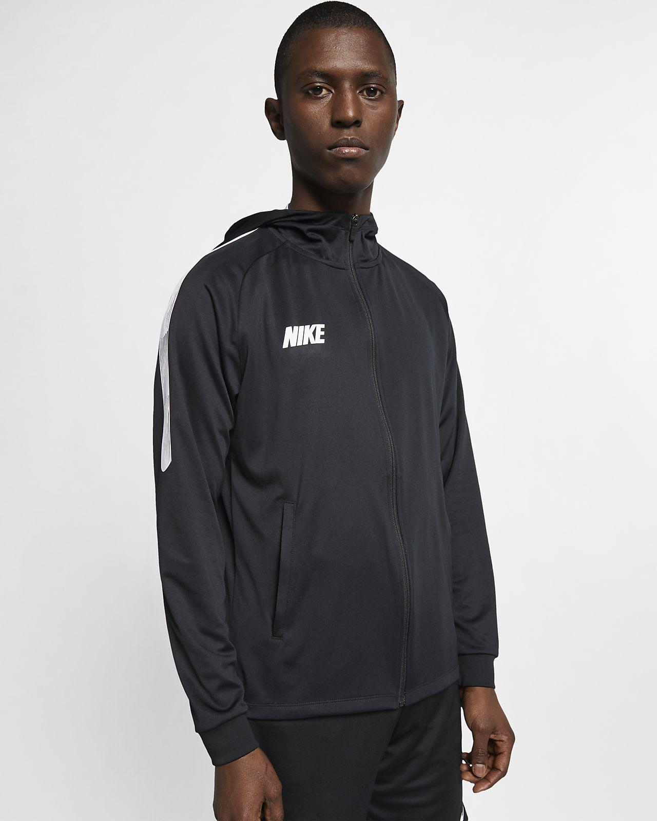 Chamarra de fútbol de cierre completo para hombre Nike Dri-FIT Squad