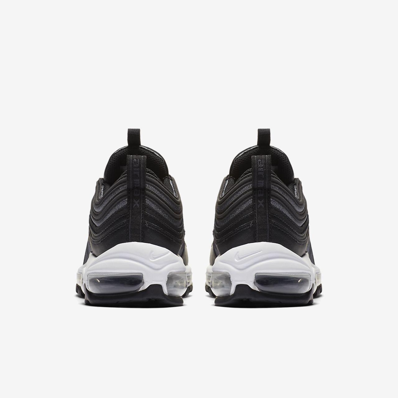 aea4c685ed scarpa nike air max 97 glitter nero/bianco/nero at0071-002