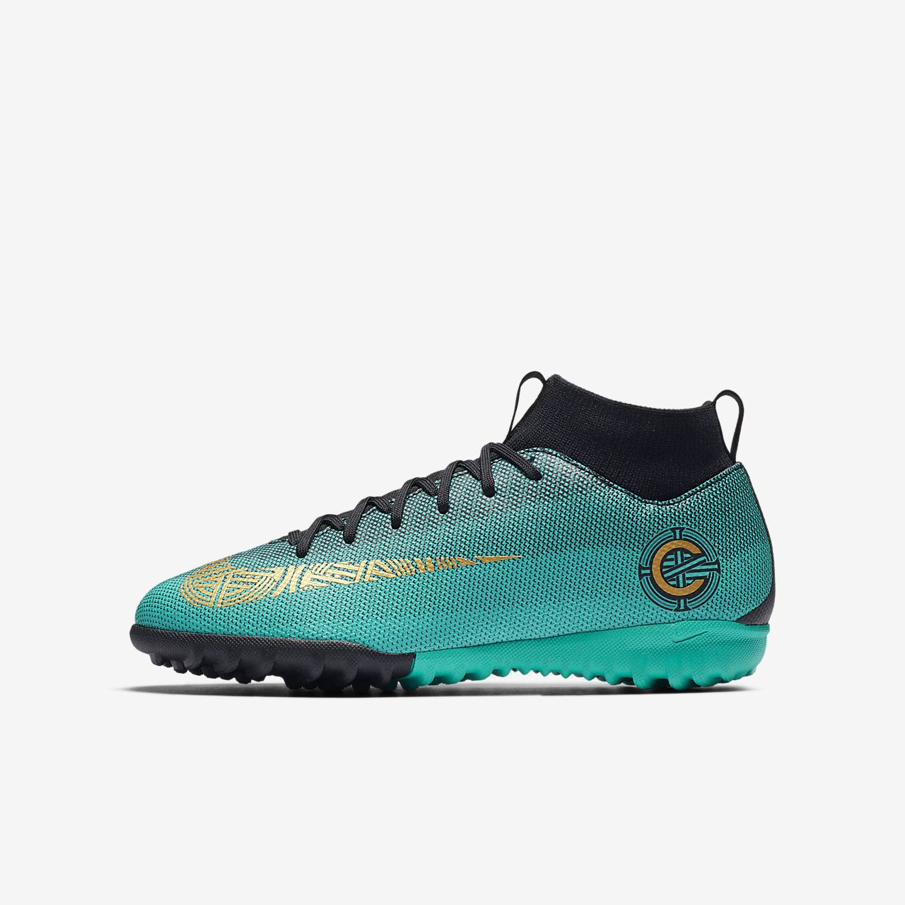 1c84028f89d ... to buy nike jr. mercurialx superfly vi academy cr7 younger older kids  turf football discount nike mercurial victory v cr7 youth indoor soccer  shoes ...