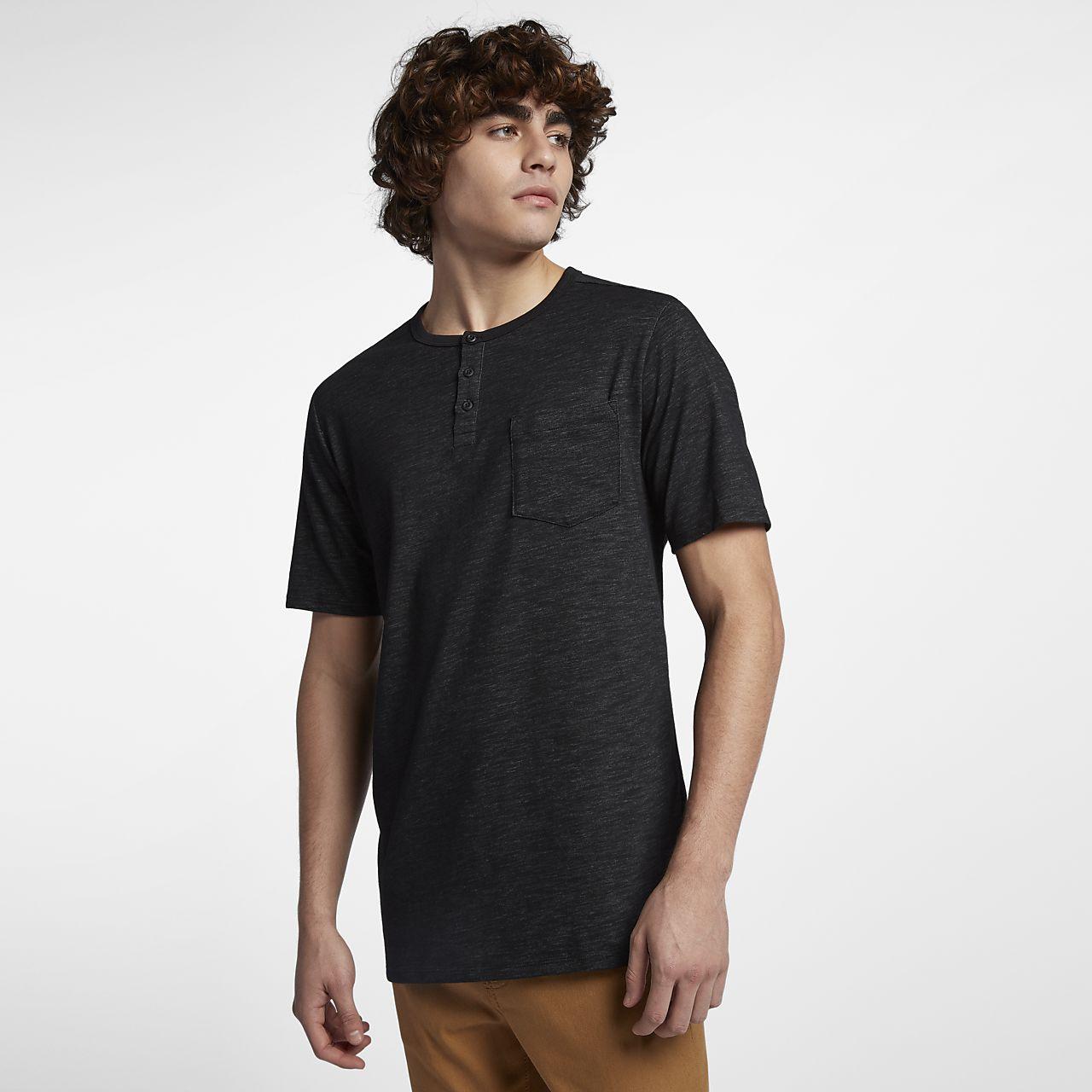 ... Hurley Dri-FIT Lagos Henley Men's Shirt