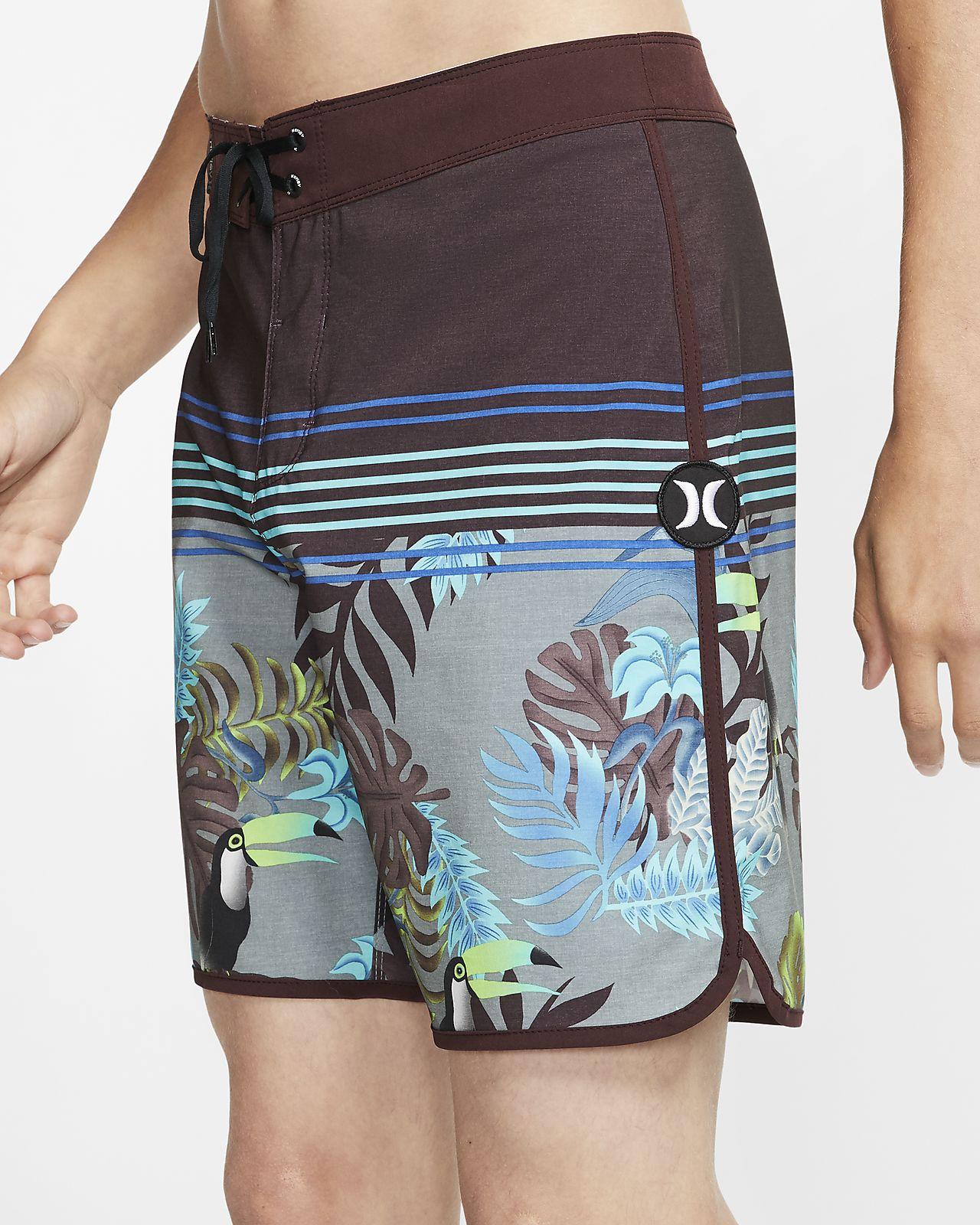 Shorts de playa de 46 cm para hombre Hurley Phantom Tamarindo