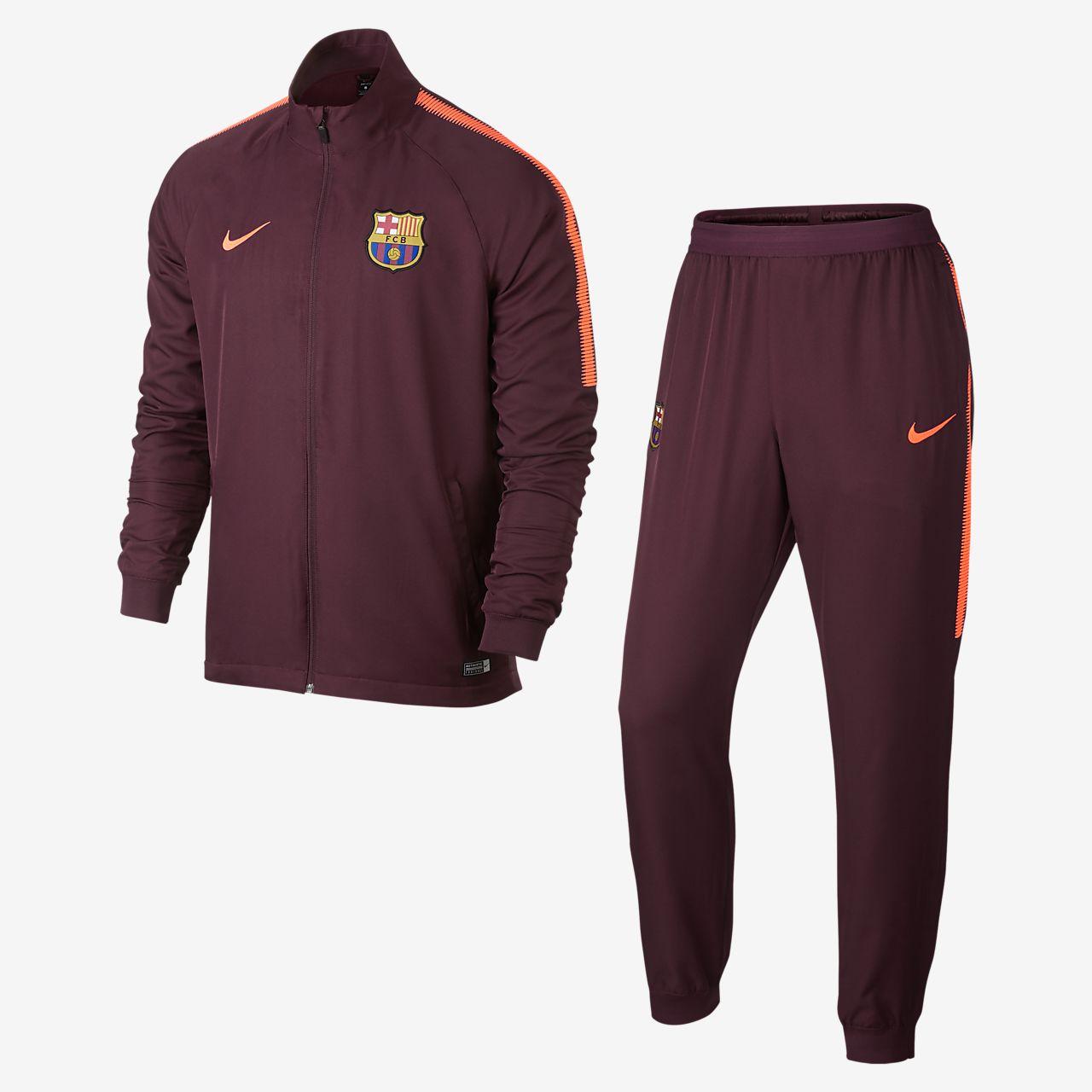 ... FC Barcelona Dri-FIT Squad Men's Football Track Suit
