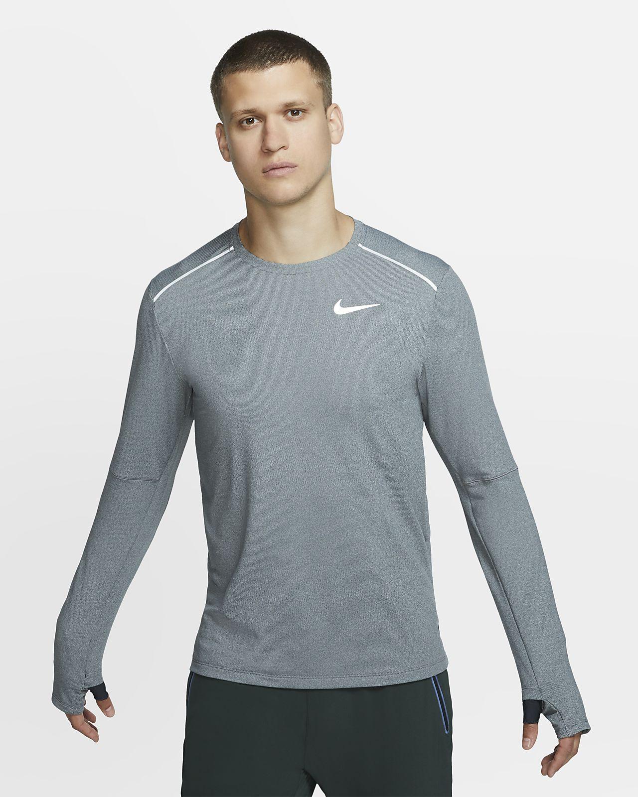 Löpartröja Nike Element 3.0 med rund hals för män