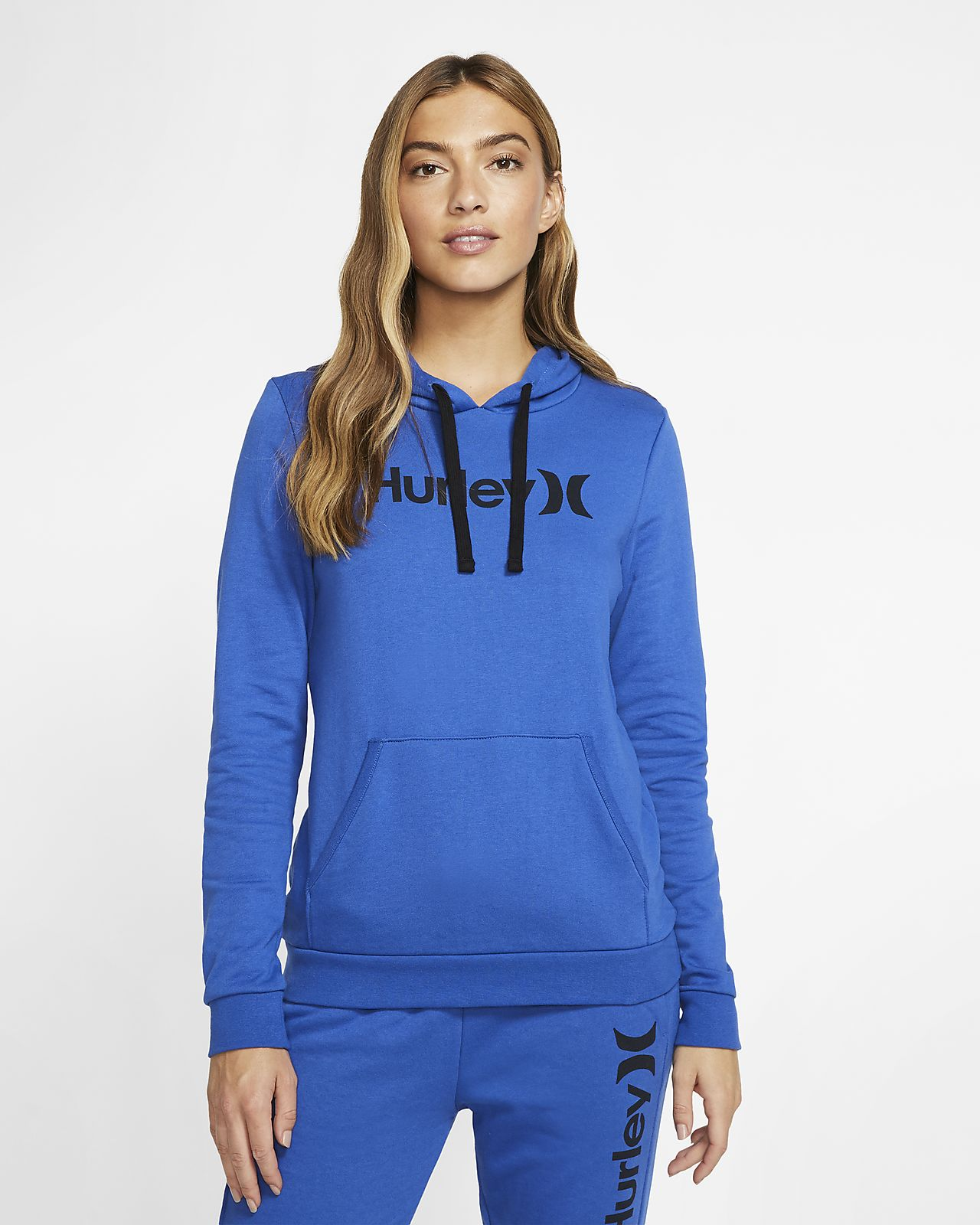 Pull à manches longues en tissu Fleece Hurley One And Only pour Femme