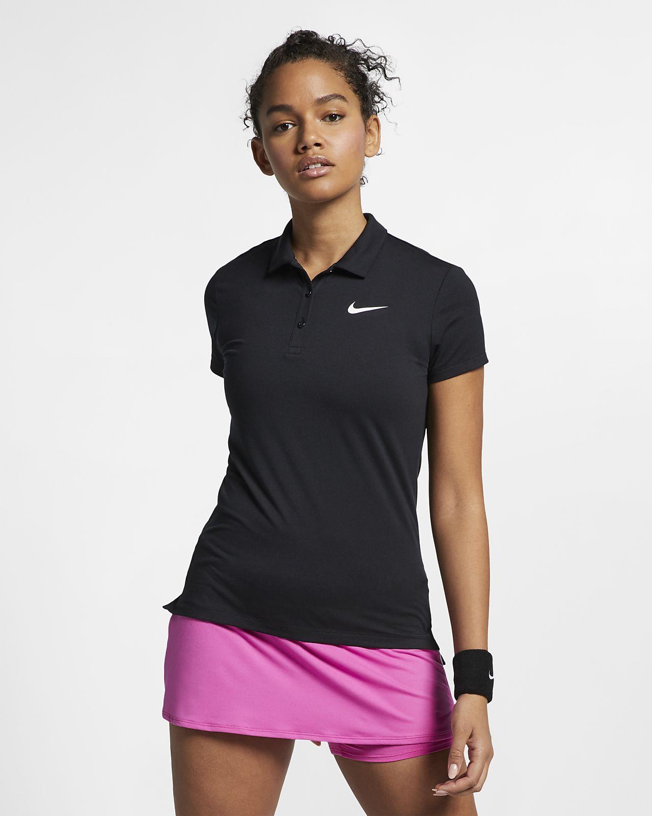 Polo de tennis NikeCourt Pure pour Femme