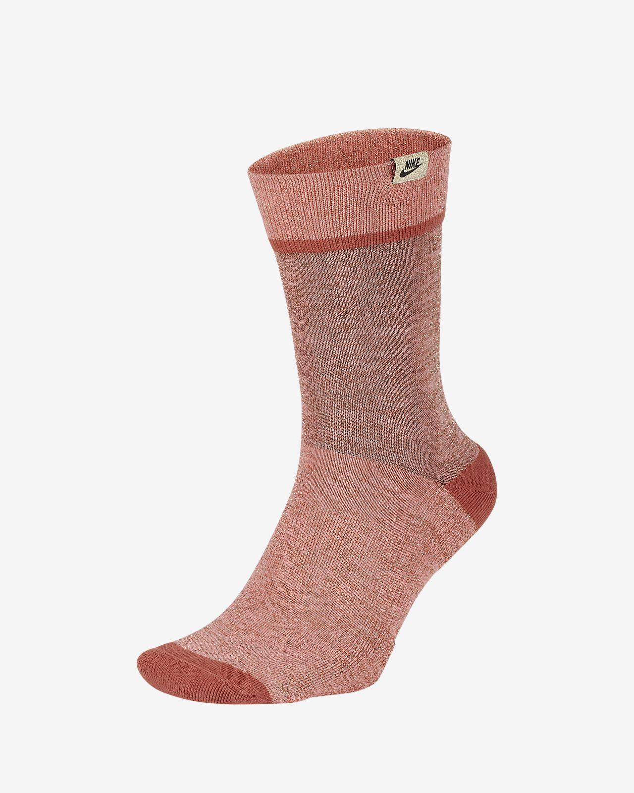 Nike SNEAKR Sox Metallic Crew Socks