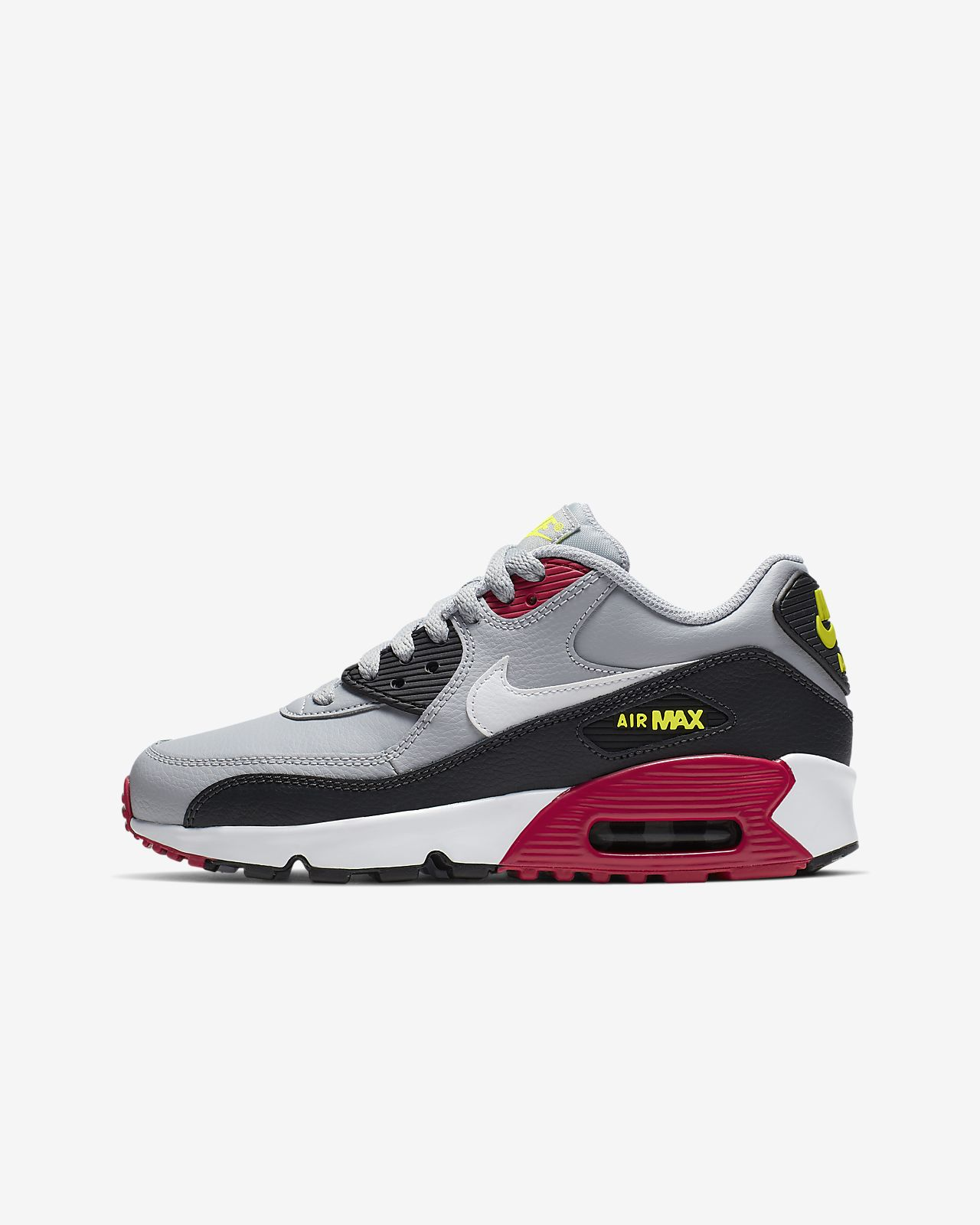 new concept c39b0 b3ab1 Big Kids  Shoe. Nike Air Max 90 Leather