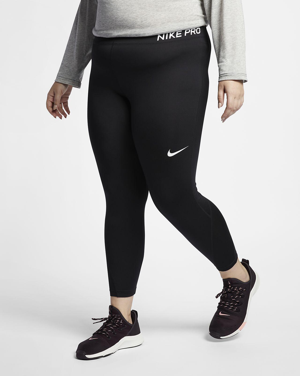 d0fa4bc4060 Nike Pro Women s Mid-Rise Training Capris (Plus Size). Nike.com BG