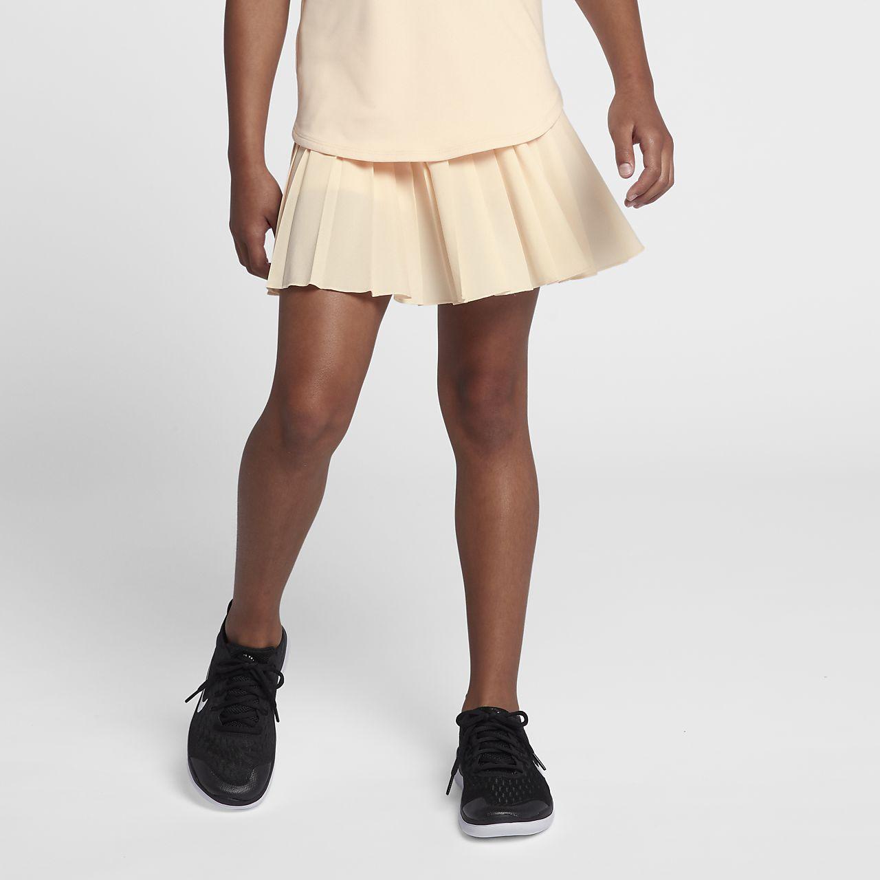 Falda de tenis para niña talla grande NikeCourt Victory