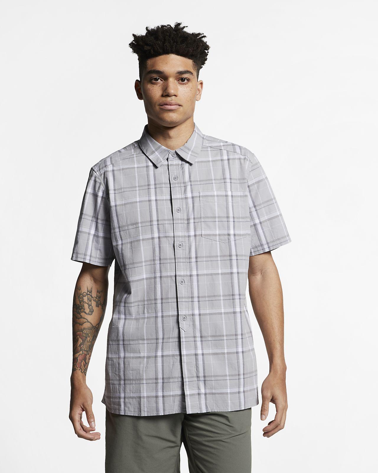 98c520a6f Мужская рубашка с коротким рукавом Hurley Frankie Stretch. Nike.com RU