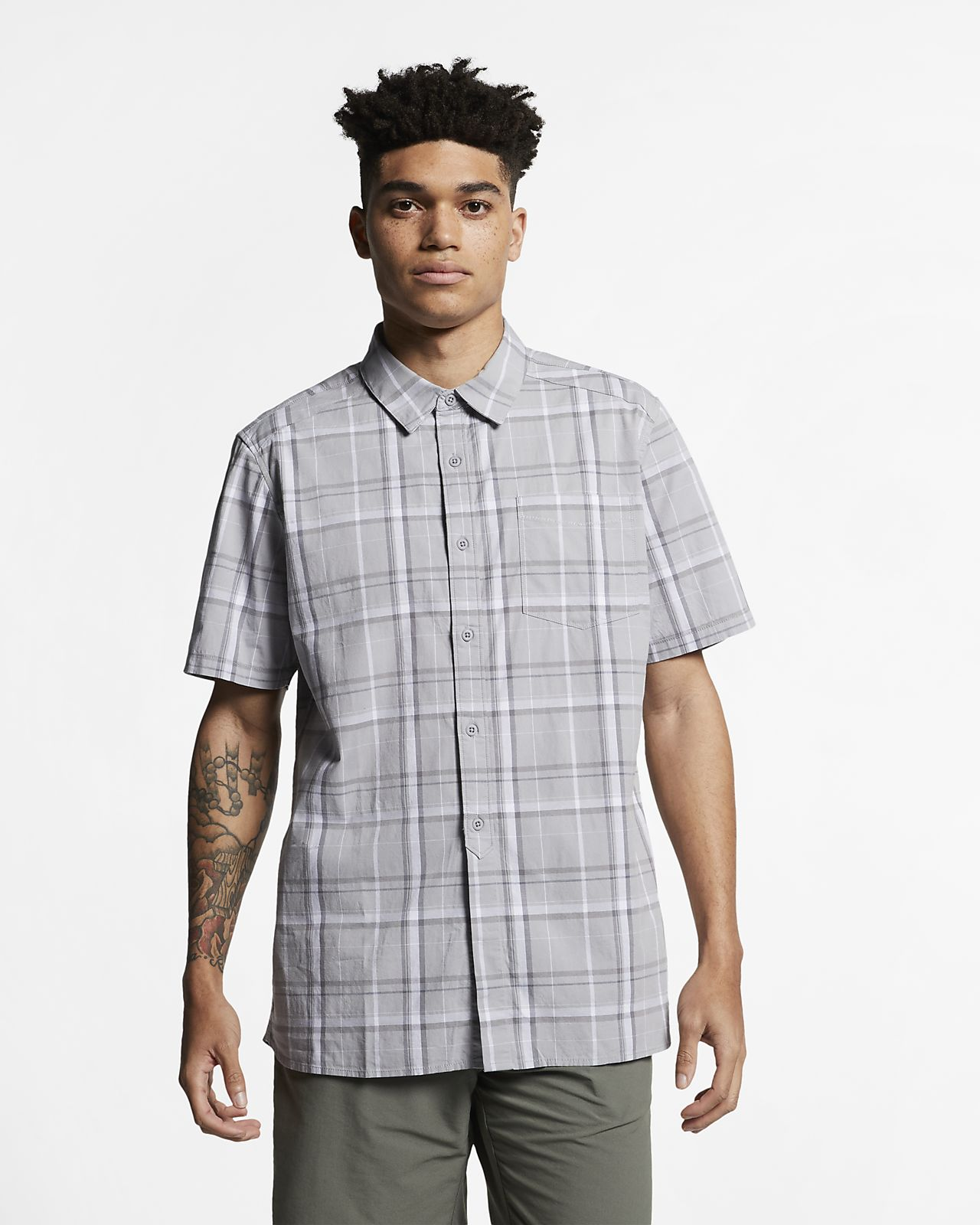 Chemise à manches courtes Hurley Frankie Stretch pour Homme