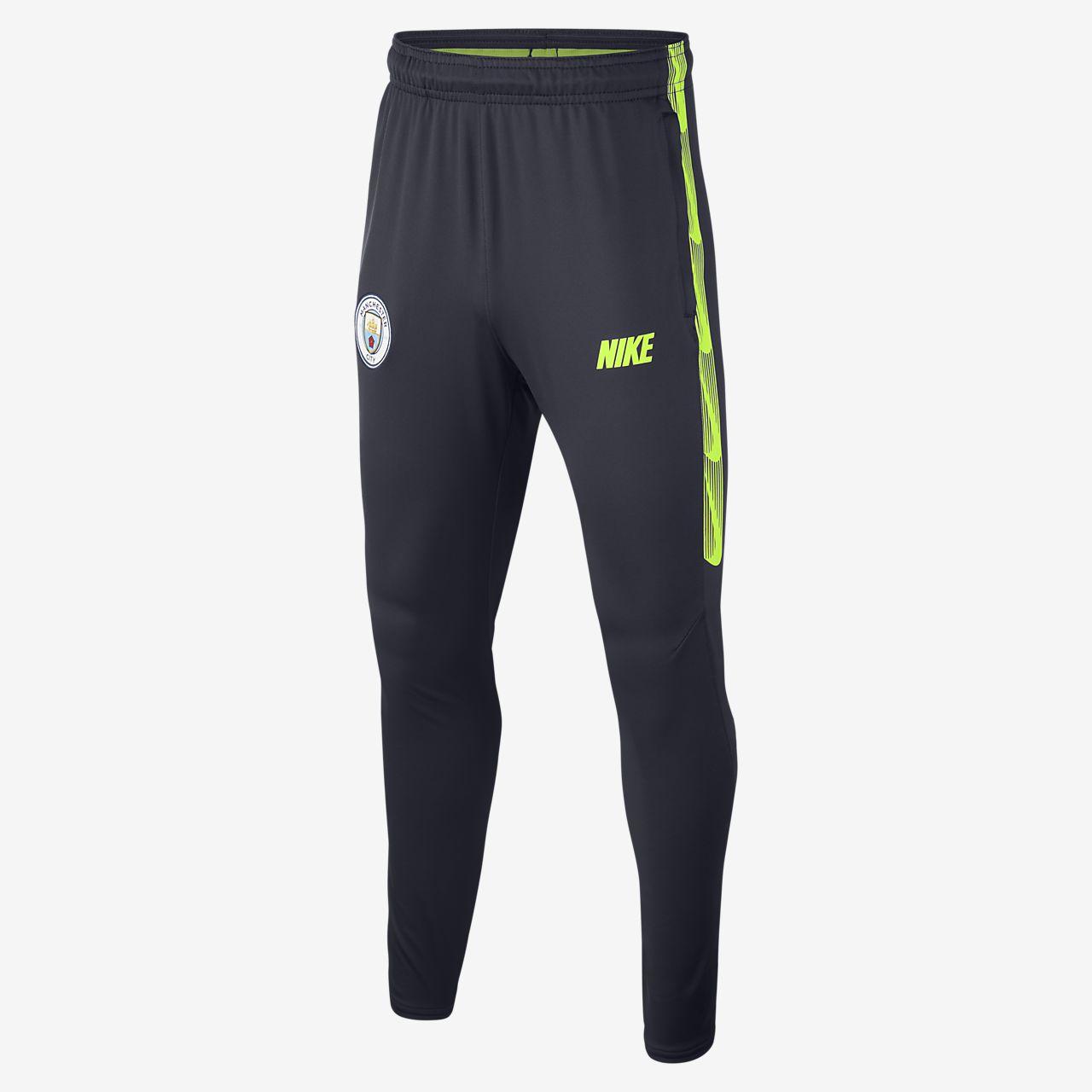 Manchester City FC Dri-FIT Squad Big Kids' Football Pants