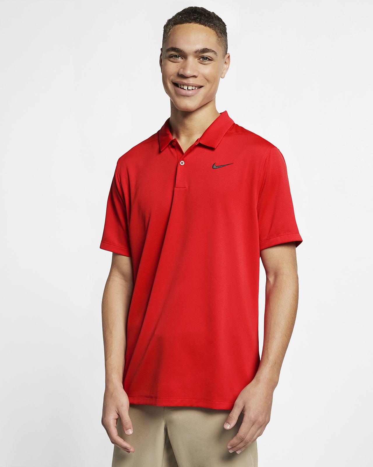 Nike Dri-FIT golfskjorte til herre
