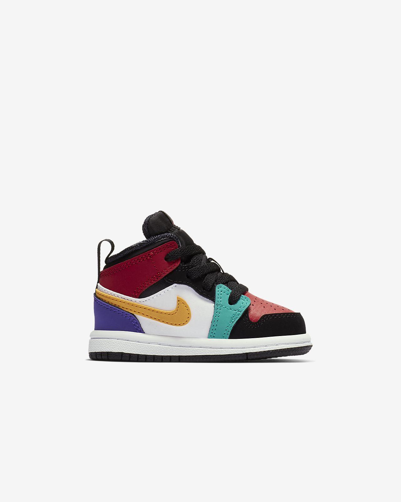 5cc289ec7a5 Air Jordan 1 Mid Infant Toddler Shoe. Nike.com