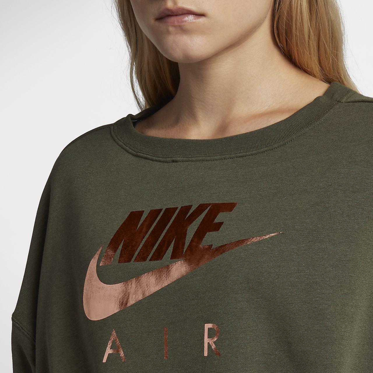 ... Nike Air Rally Women s Metallic Crew 797272f22
