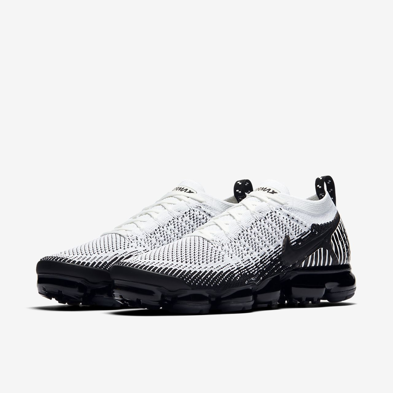 buy popular a36e4 21c52 ... Chaussure Nike Air VaporMax Flyknit 2 Zebra pour Homme