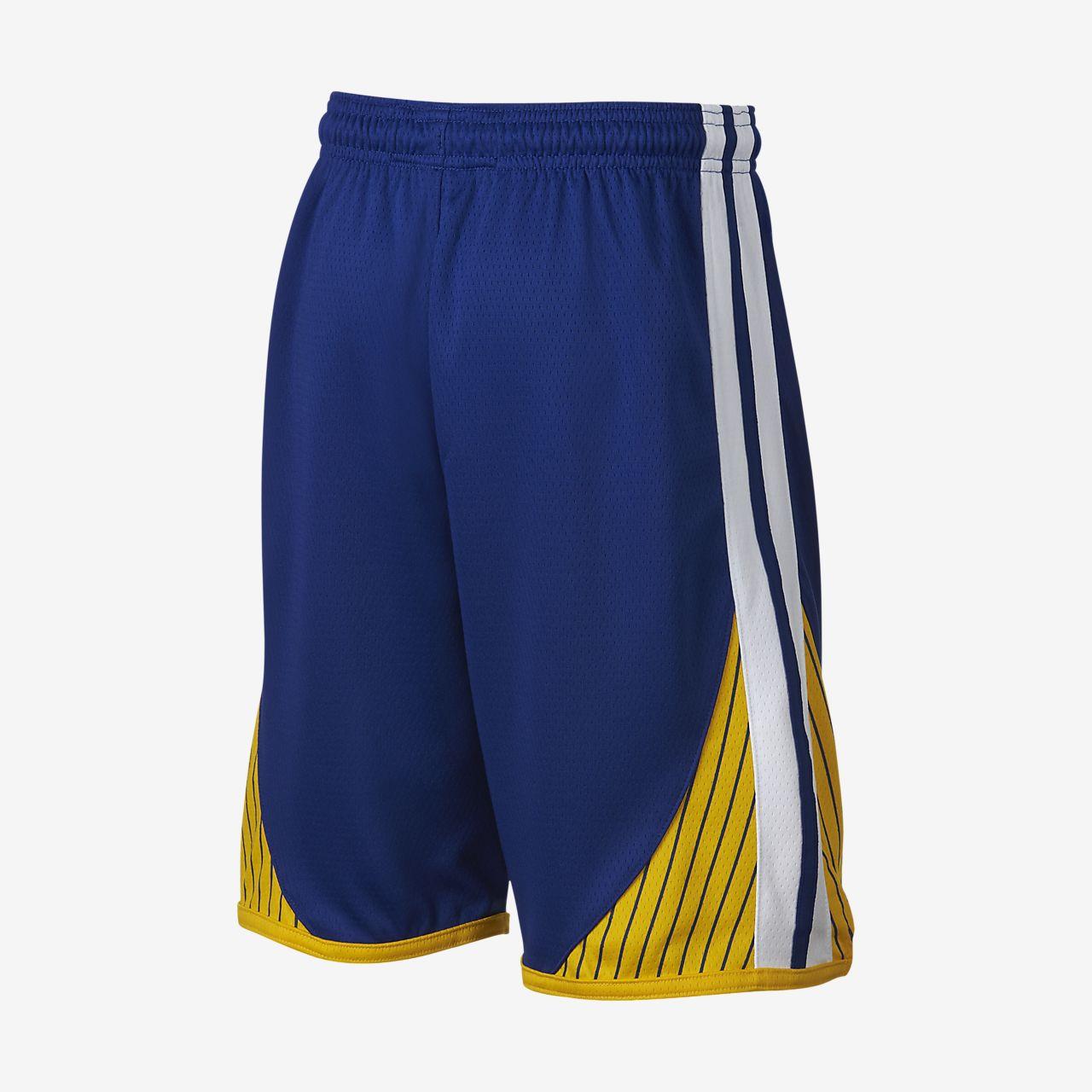 89f533cb87f2 ... Golden State Warriors Nike Icon Edition Swingman Big Kids  (Boys ) NBA  Shorts