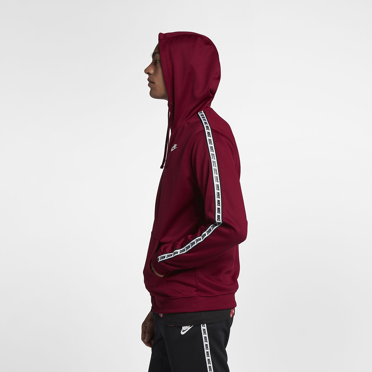 À Sweat Pour Entièrement Nike Sportswear Zippé Homme Capuche vwrBw6qdx4